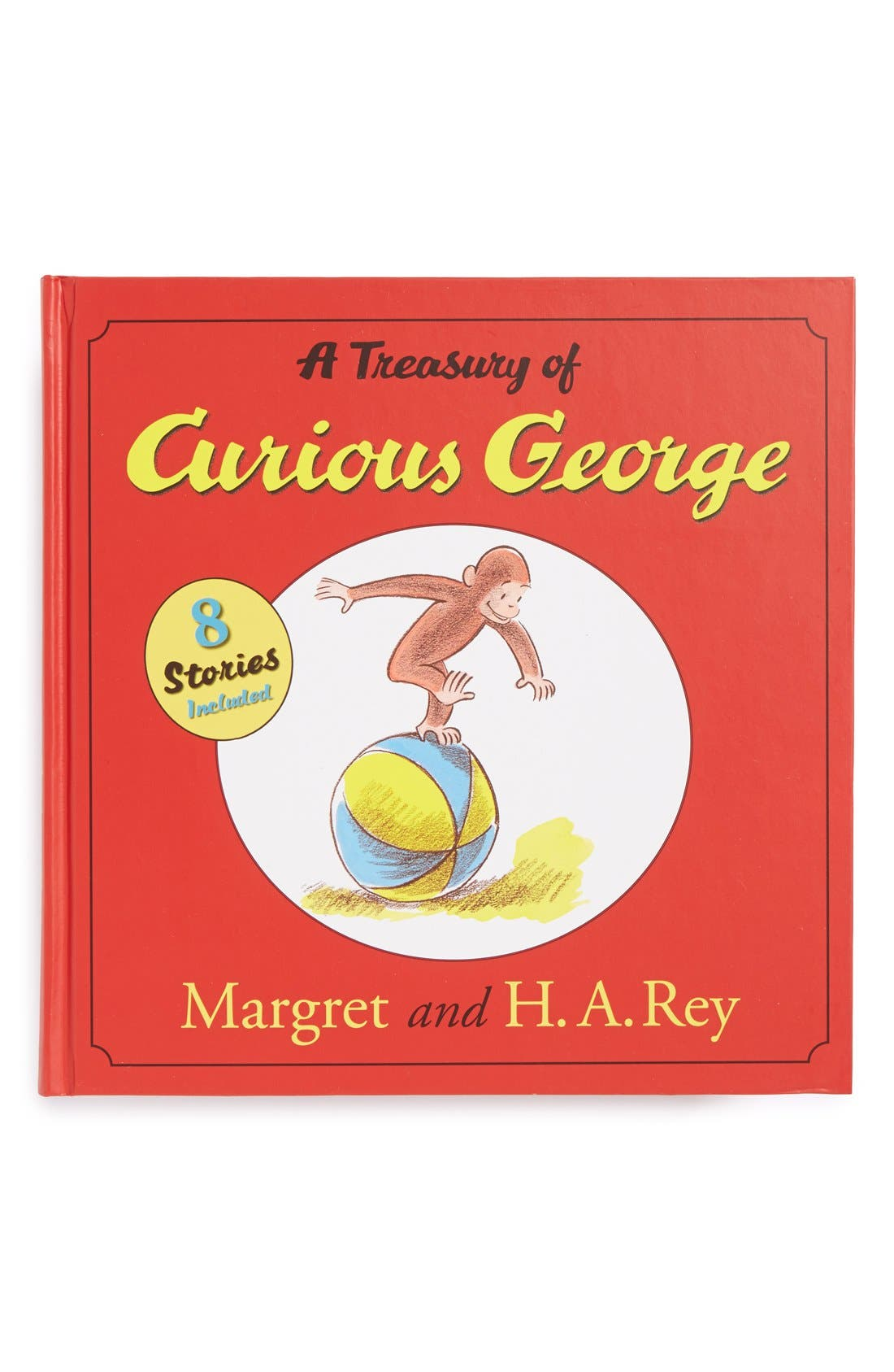 Alternate Image 1 Selected - 'A Treasury of Curious George' Book