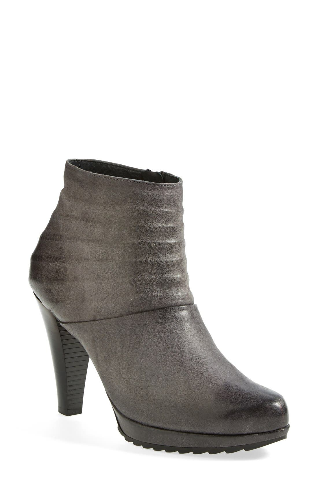 Alternate Image 1 Selected - Paul Green 'Belmont' Leather Bootie (Women)