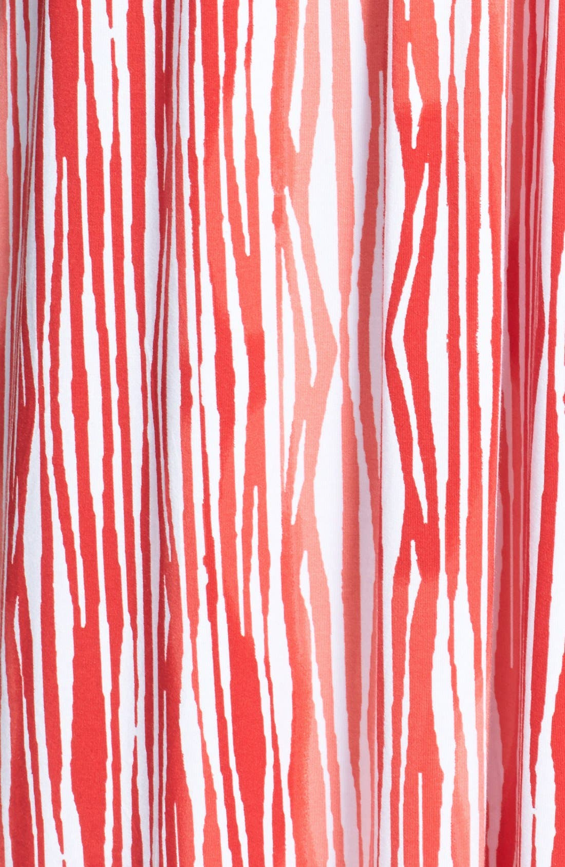 Alternate Image 3  - Tart 'Adrianna' Surplice Print Jersey Maxi Dress