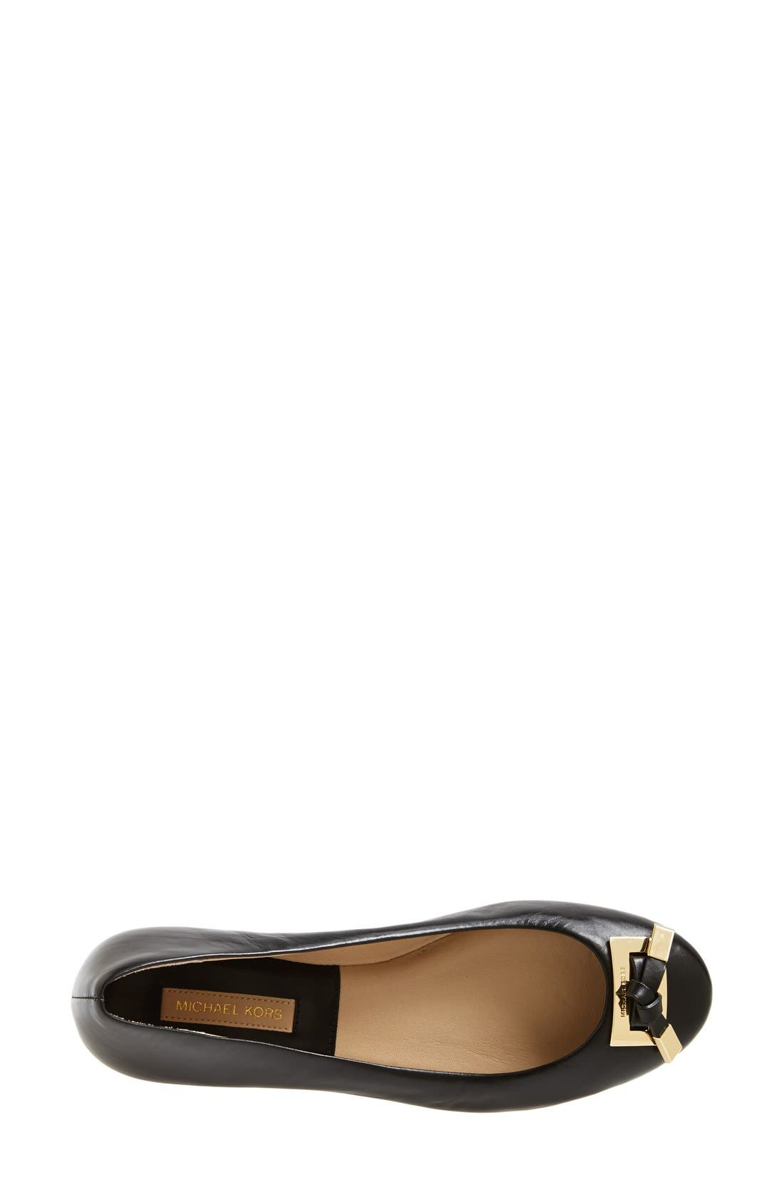 Alternate Image 3  - Michael Kors 'Pearl' Ballet Flat (Women)