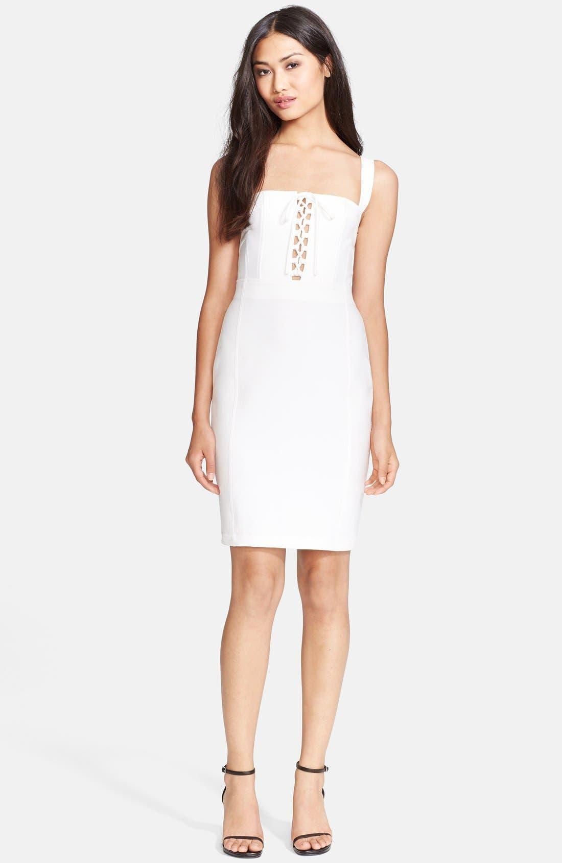 Alternate Image 1 Selected - Diane von Furstenberg 'Scottland' Corset Dress