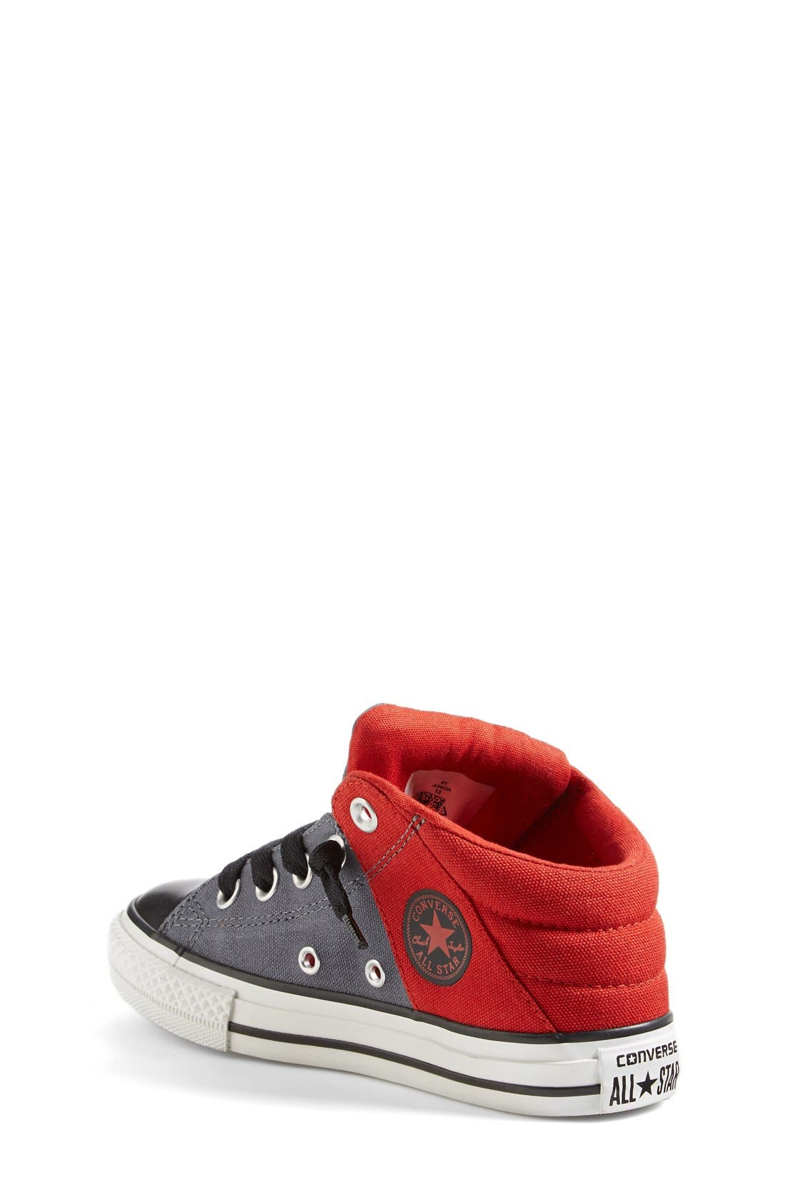 Alternate Image 2  - Converse Chuck Taylor® All Star® 'Axel' Mid Top Sneaker (Toddler, Little Kid & Big Kid)