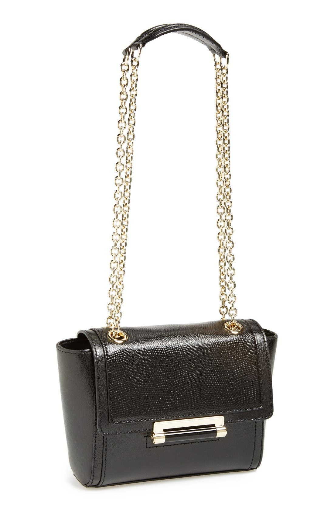 Alternate Image 1 Selected - Diane von Furstenberg 'Mini 440' Leather Crossbody Bag