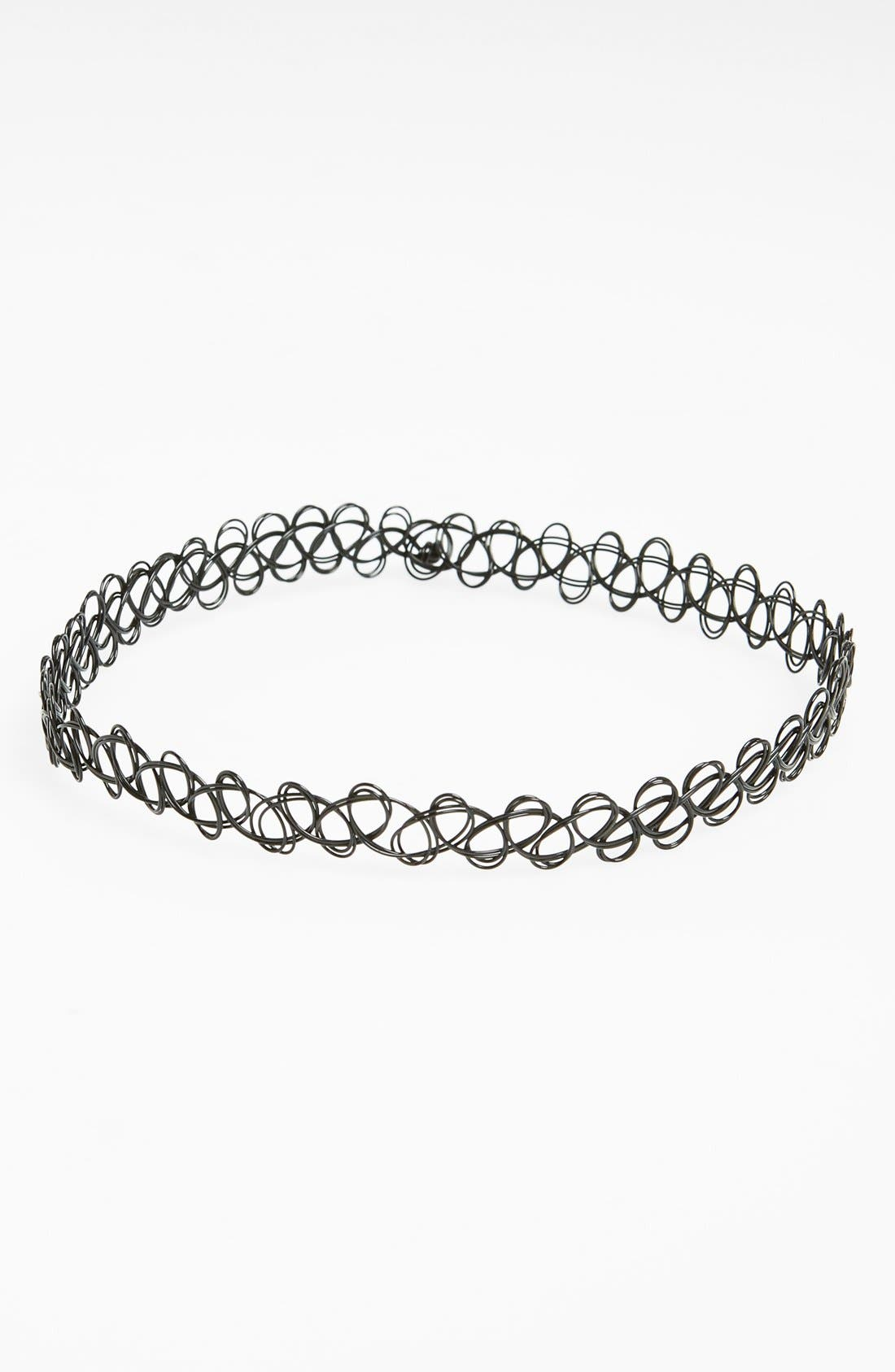 Alternate Image 1 Selected - Topshop Tattoo Choker Necklace