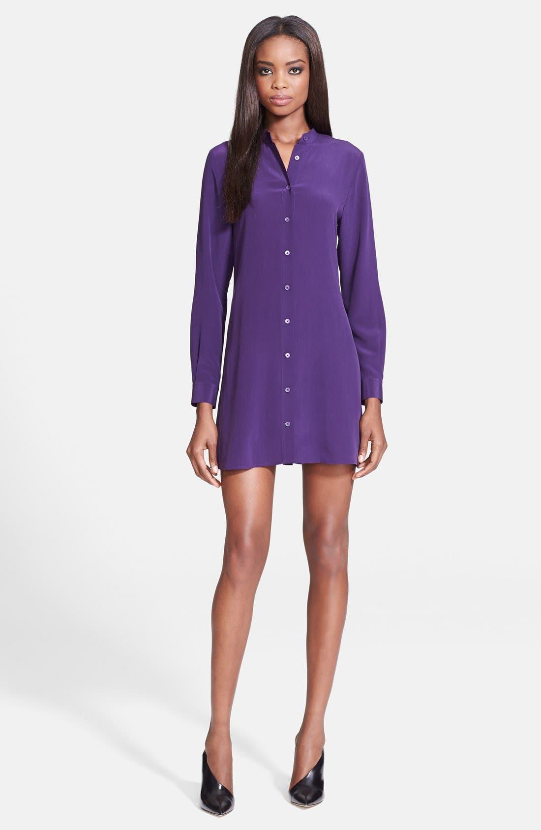 Alternate Image 1 Selected - McQ by Alexander McQueen Silk Shirtdress