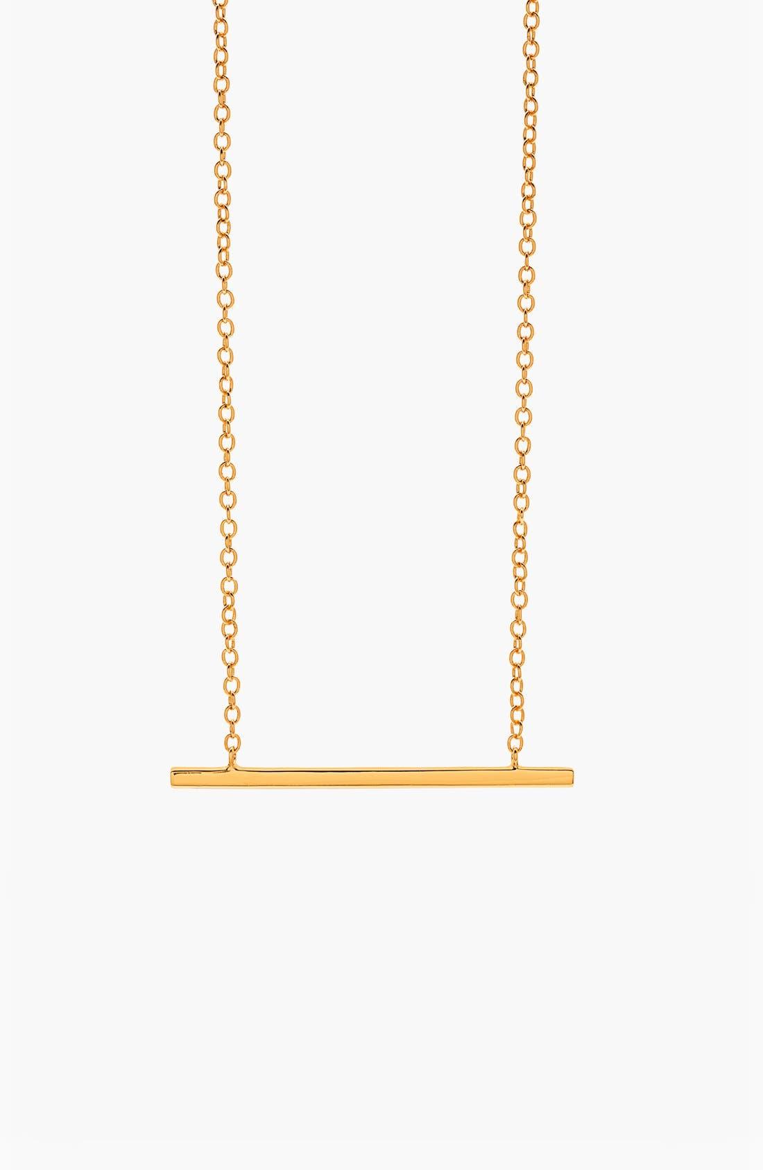 Main Image - gorjana 'Mave' Bar Pendant Necklace
