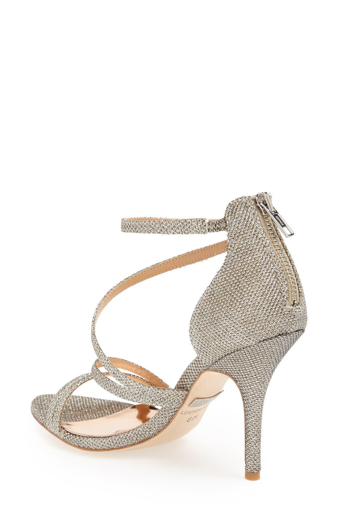 Alternate Image 2  - Badgley Mischka 'Landmark' Ankle Strap Sandal (Women)