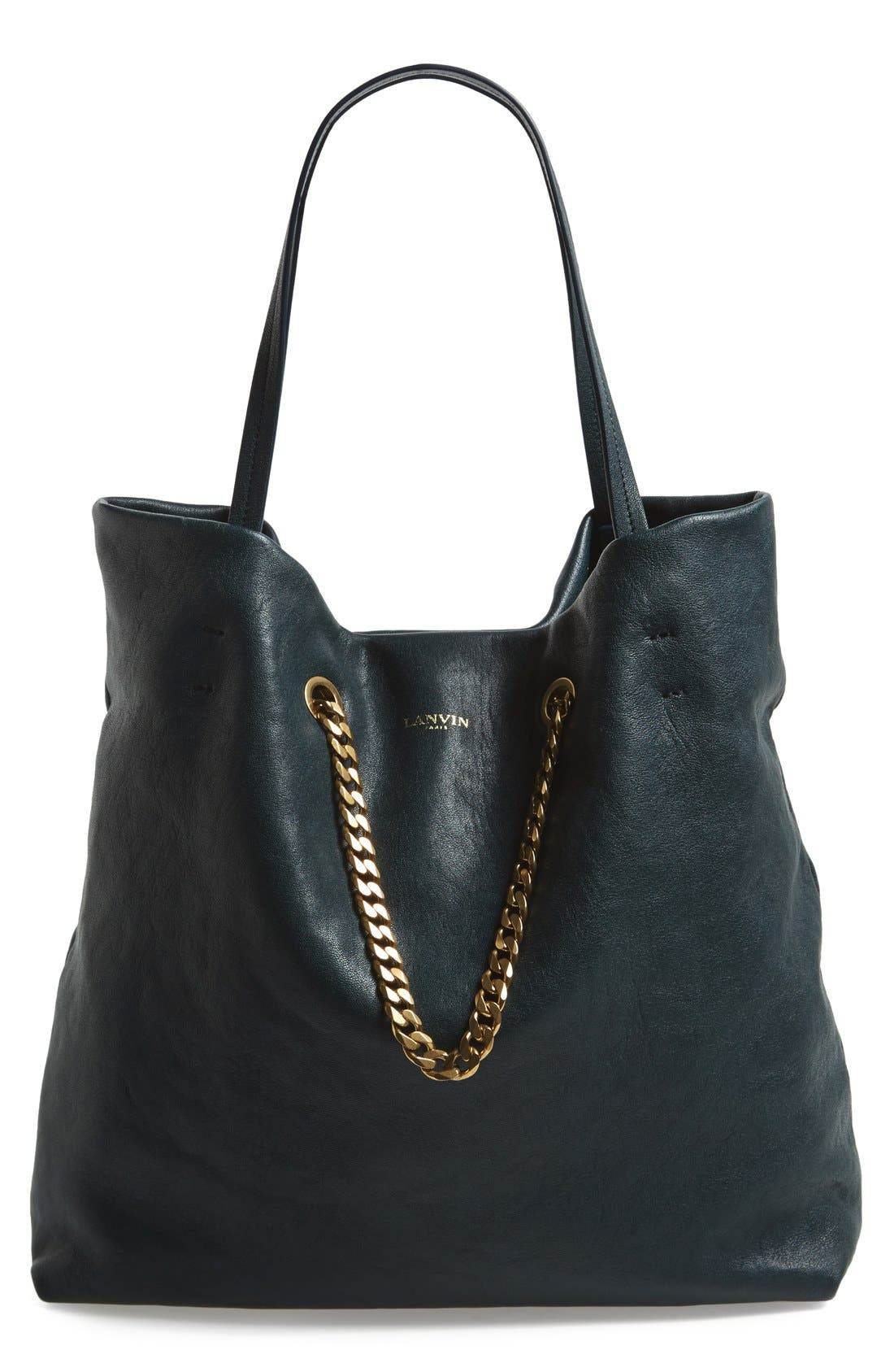 Alternate Image 1 Selected - Lanvin 'Medium Carry Me' Leather Tote