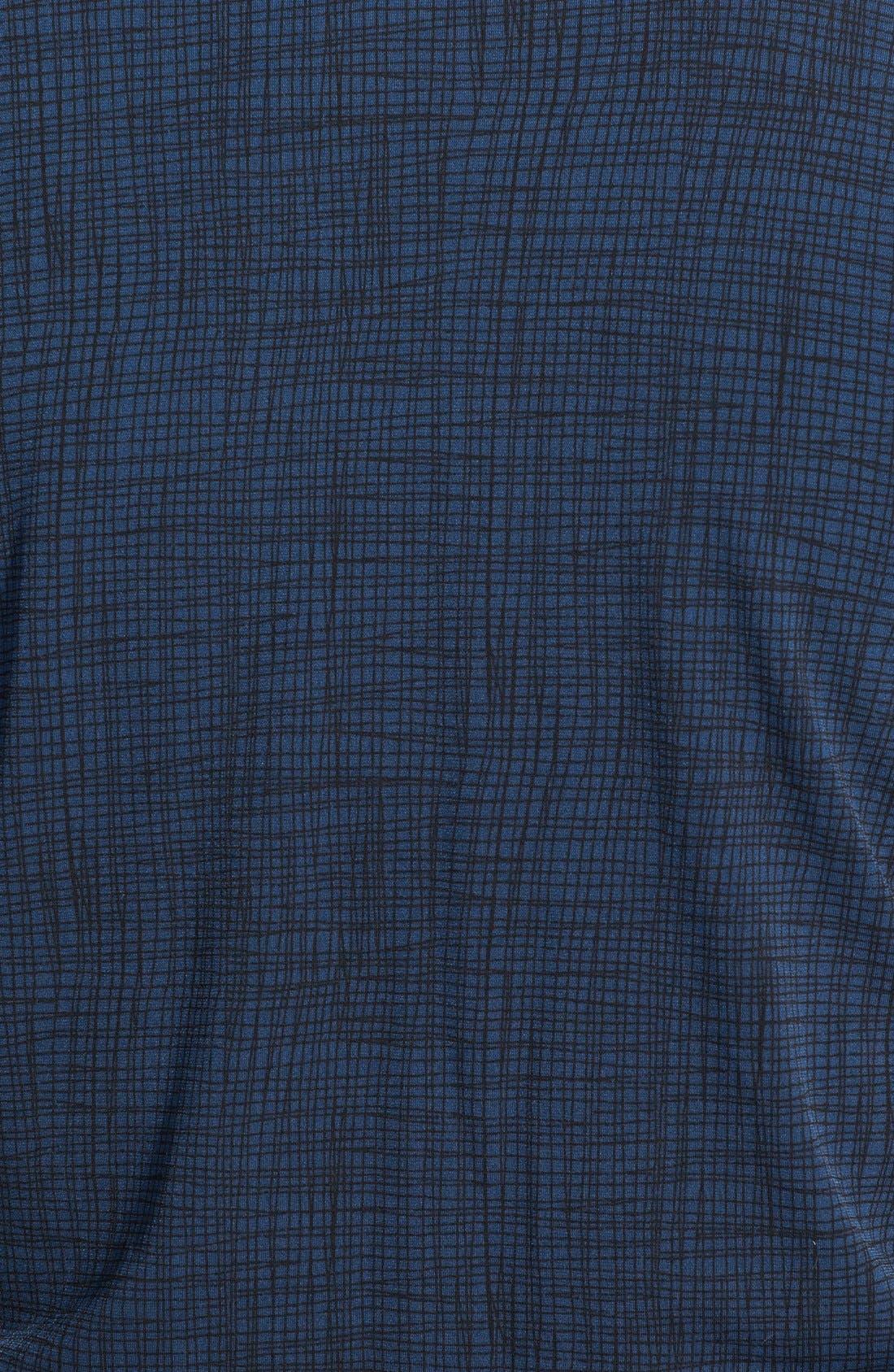 Alternate Image 3  - Vince Camuto Crosshatch Print V-Neck Top (Plus Size)