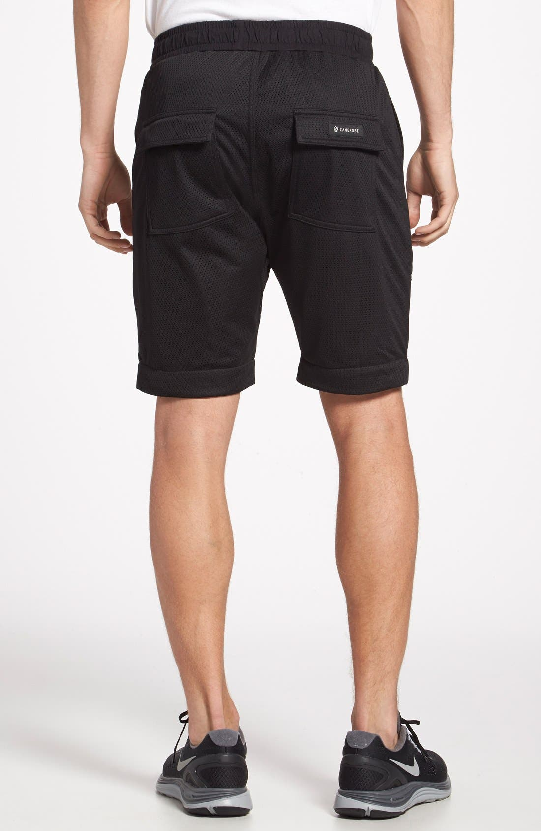 Alternate Image 2  - ZANEROBE 'Gabe' Mesh Jogger Shorts