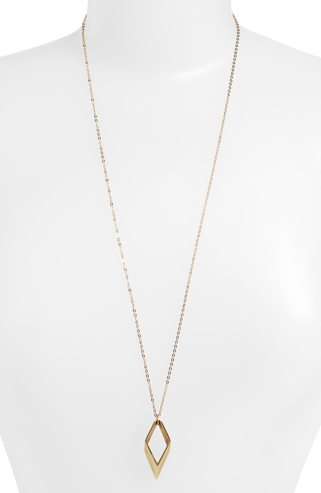 Alternate Image 1 Selected - Baleen 'Parallelogram' Pendant Necklace