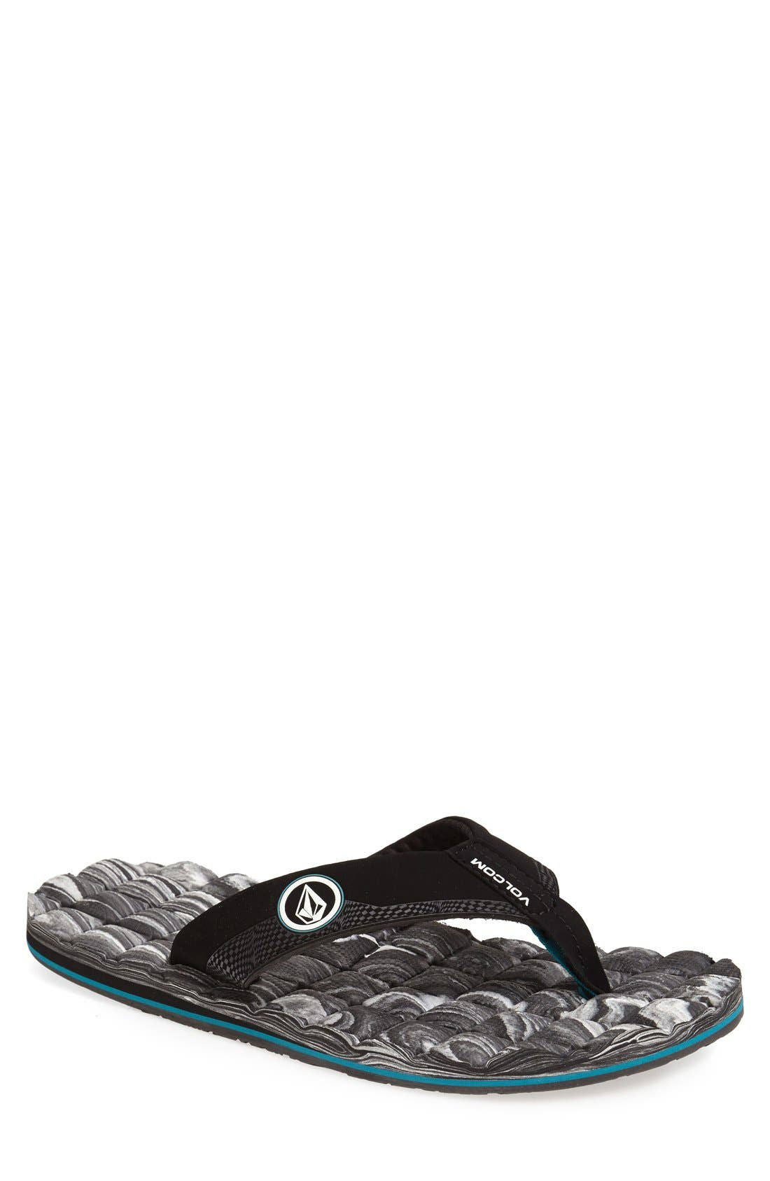 Alternate Image 1 Selected - Volcom 'Recliner' Flip Flop (Men)