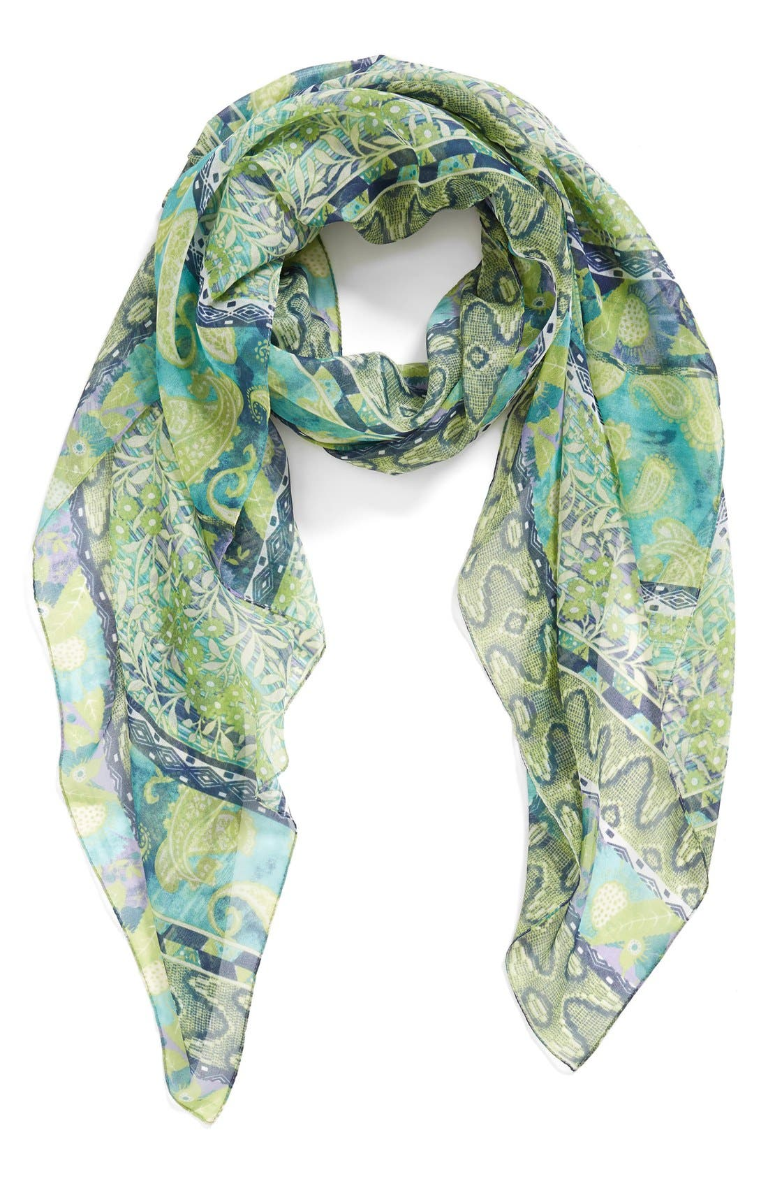 Main Image - Nordstrom Paisley Scarf