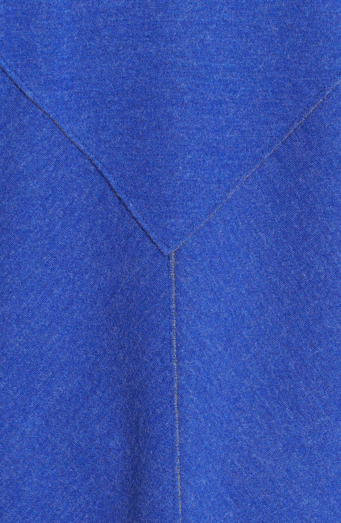 Alternate Image 3  - Eileen Fisher Double Knit Merino Blend Shaped Cardigan (Plus Size)
