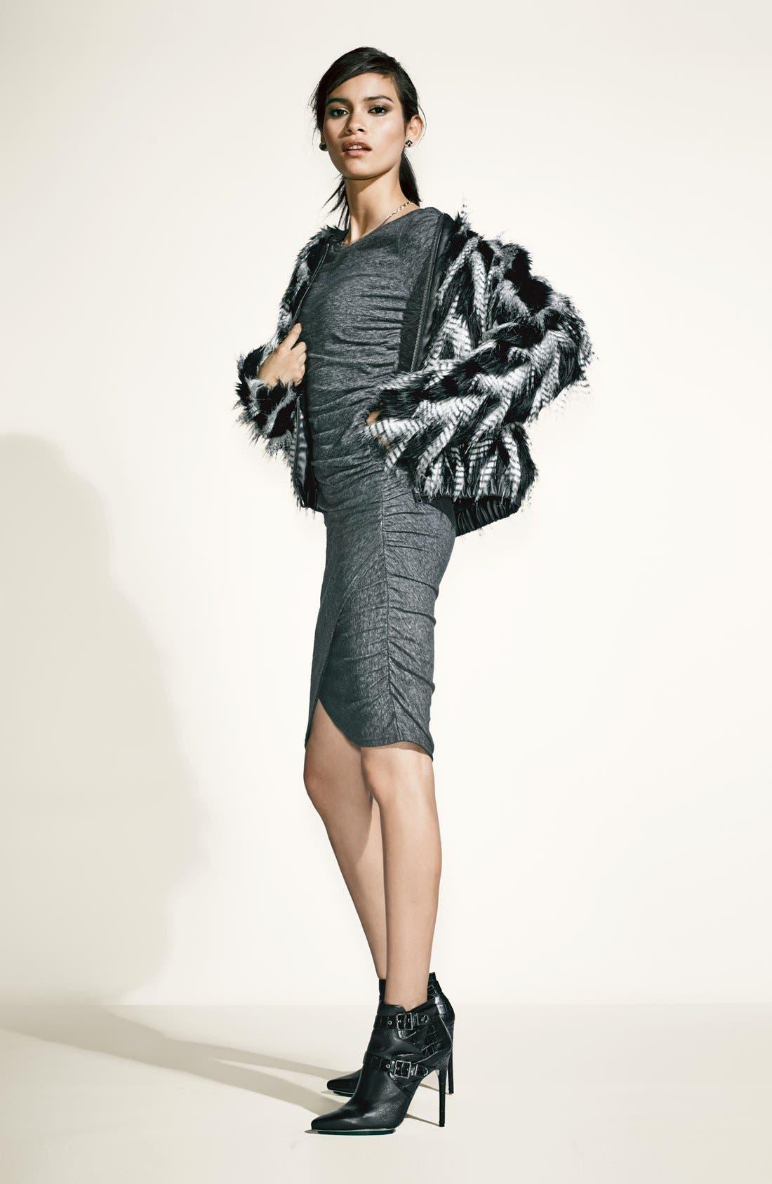 Alternate Image 5  - Leith Faux Fur Jacket