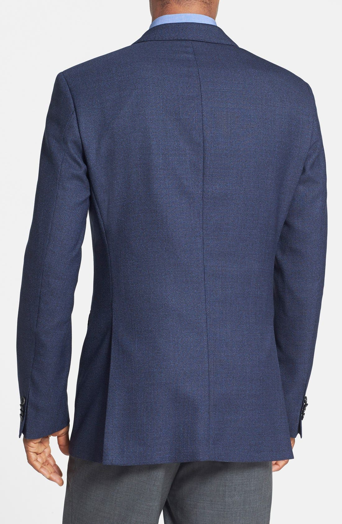 Alternate Image 2  - BOSS HUGO BOSS 'James' Trim Fit Wool Blazer