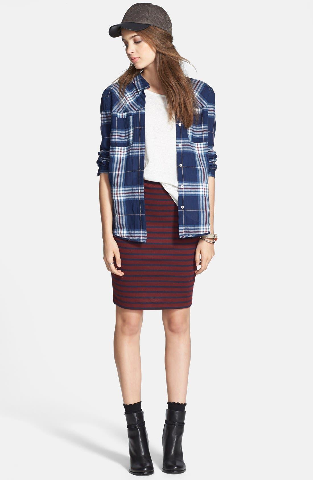 Alternate Image 7  - Ace Delivery Stripe Tube Skirt