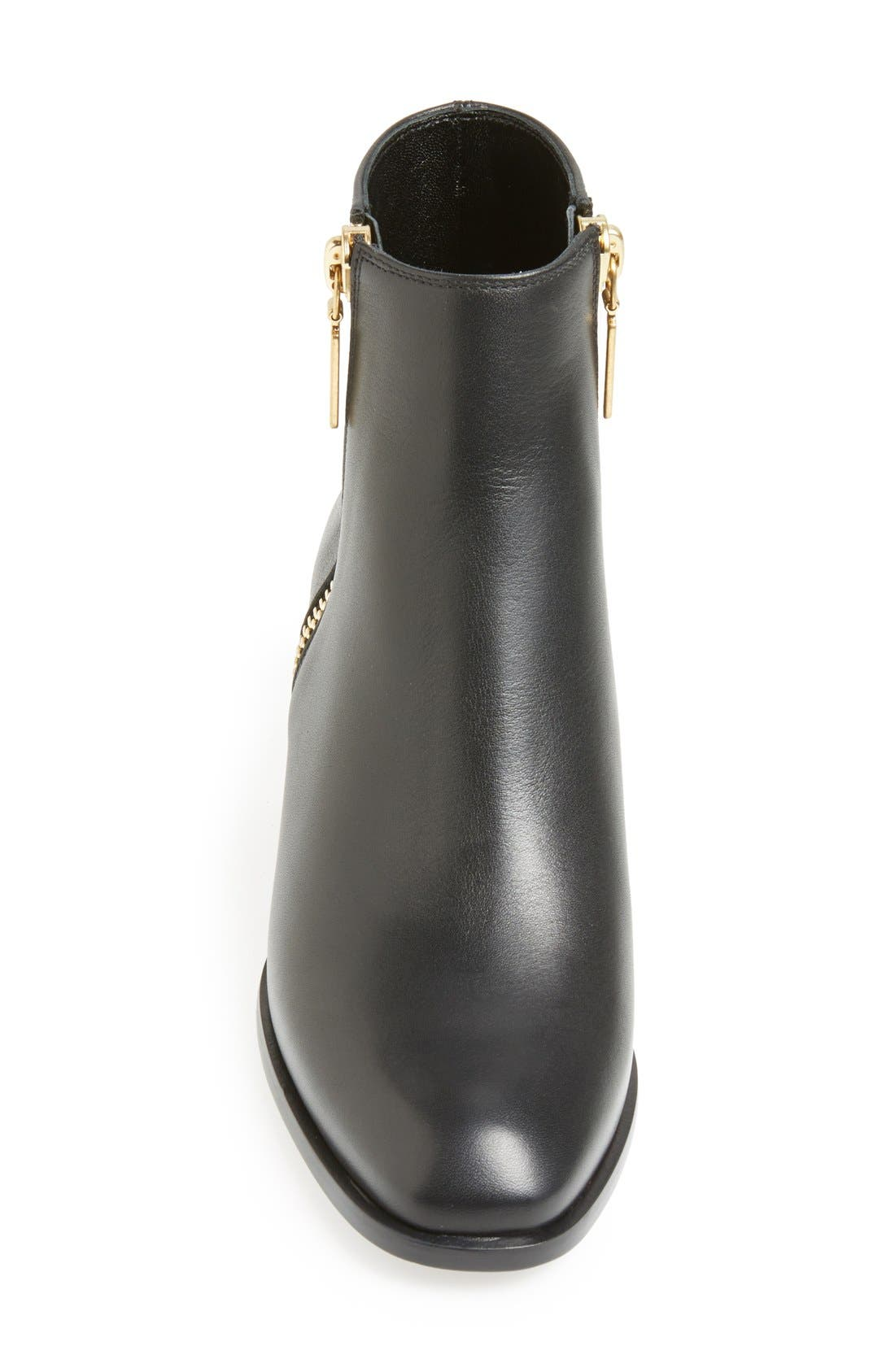Alternate Image 3  - Alexander McQueen Spike Short Boot (Women)