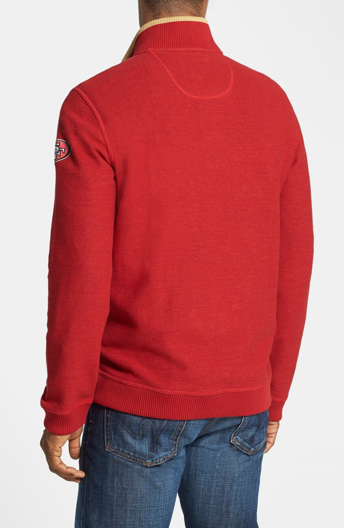 Alternate Image 2  - Tommy Bahama 'San Francisco 49ers - NFL Scrimshaw' Pullover
