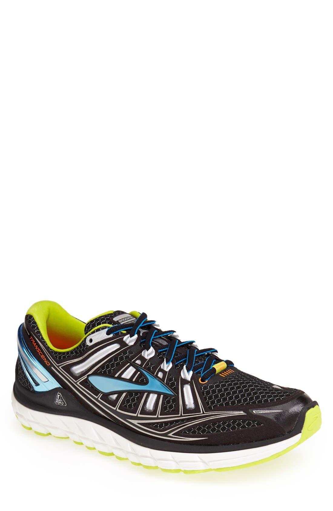 Main Image - Brooks 'Transcend' Running Shoe (Men)