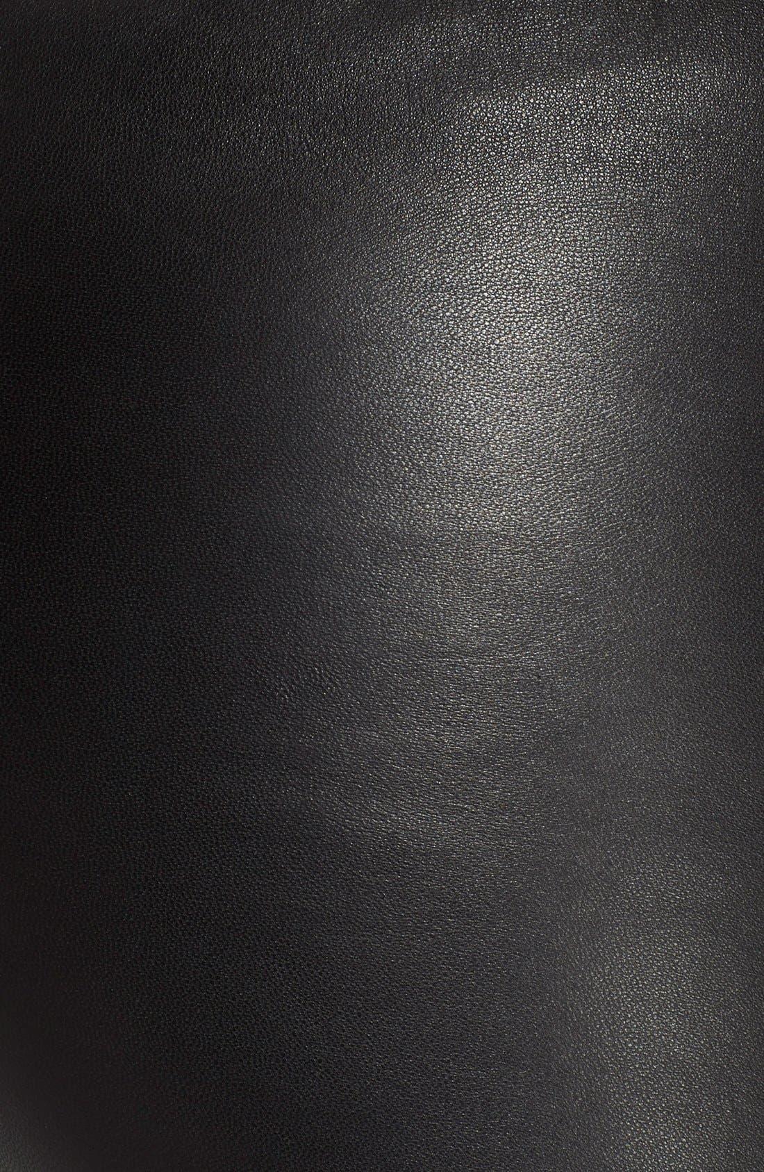Alternate Image 3  - Rick Owens Stretch Leather Leggings