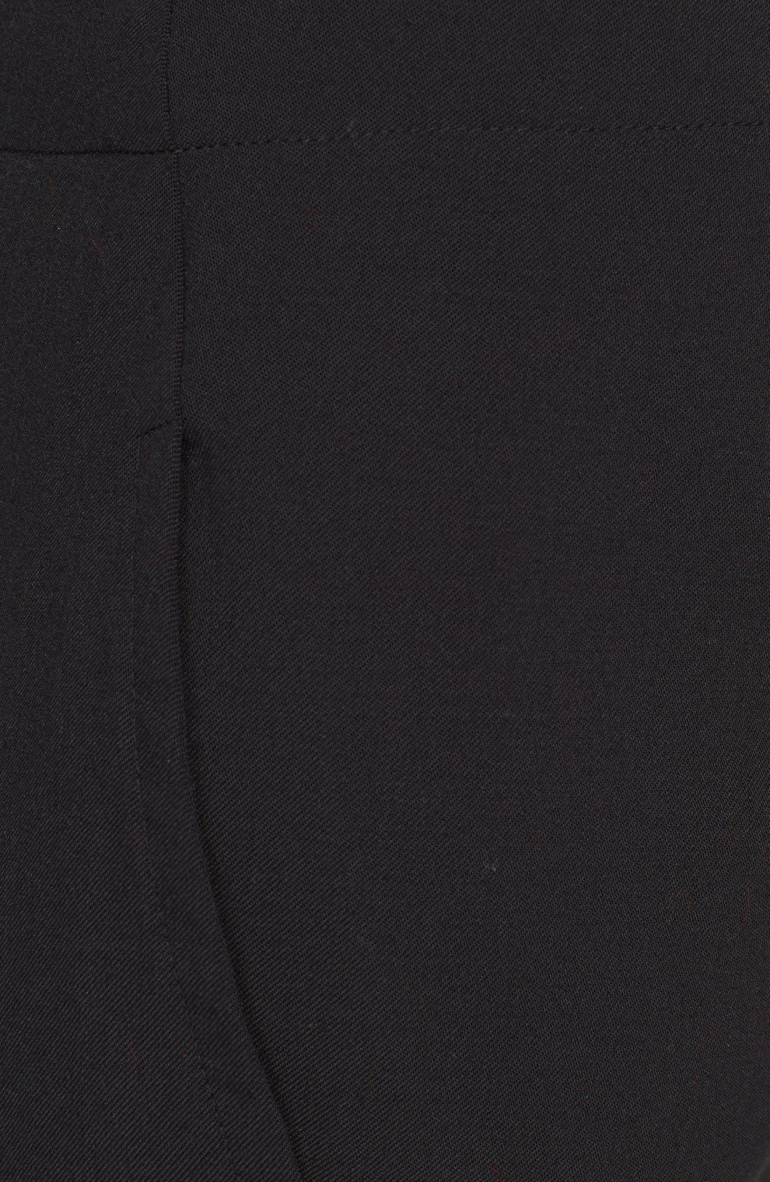 Alternate Image 4  - Donna Karan Collection Slim Wool Jersey Pants