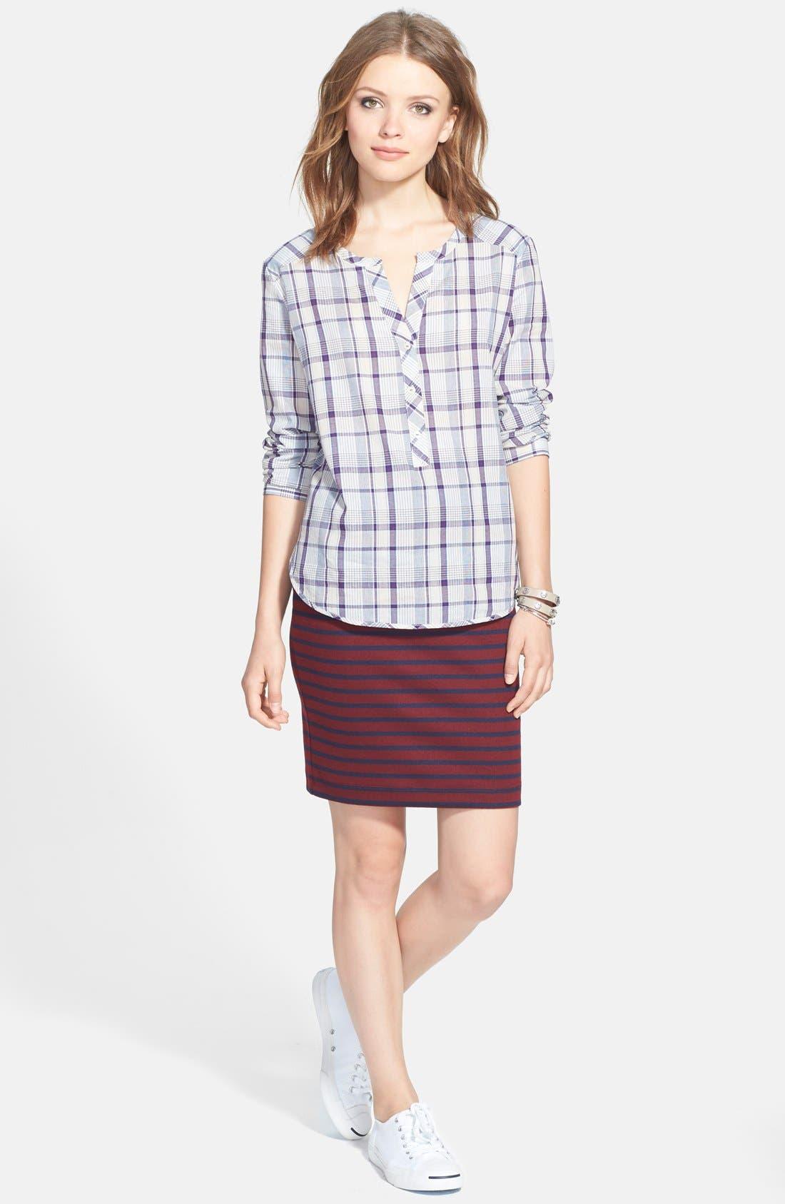 Alternate Image 8  - Ace Delivery Stripe Tube Skirt