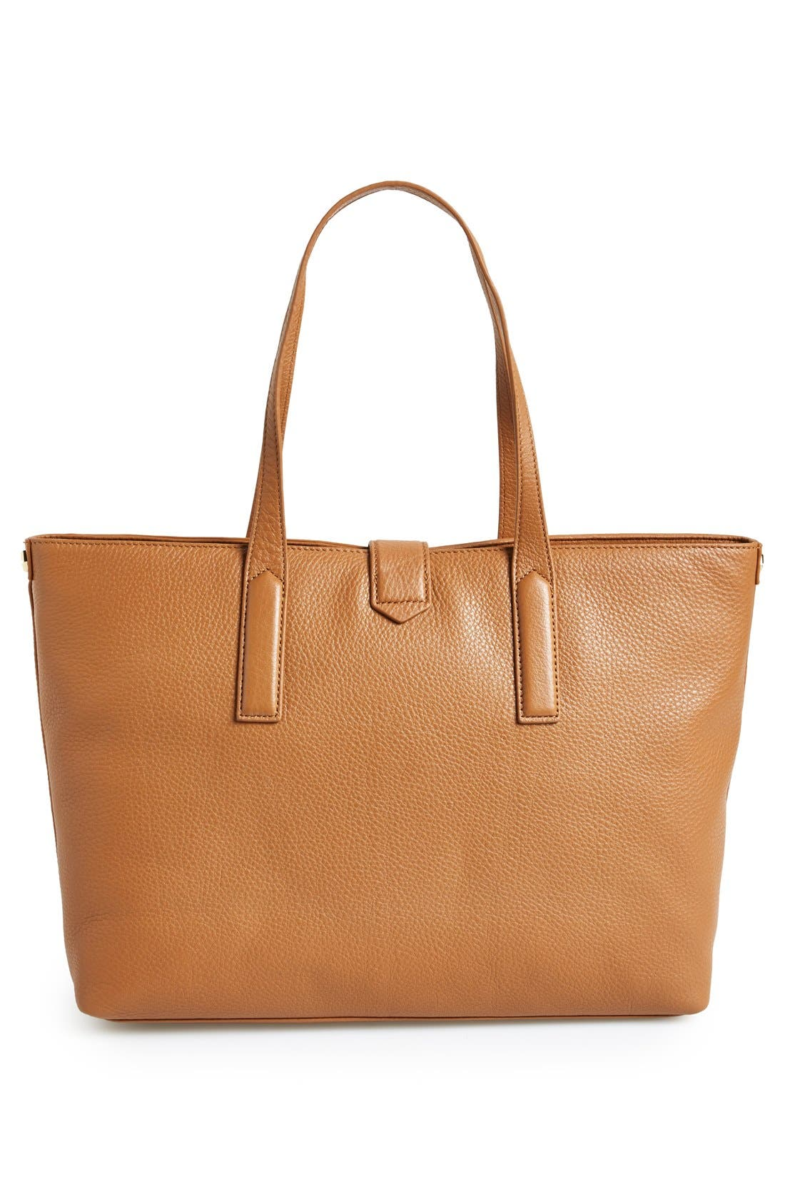 Alternate Image 4  - Tory Burch 'Plaque' Leather Tote