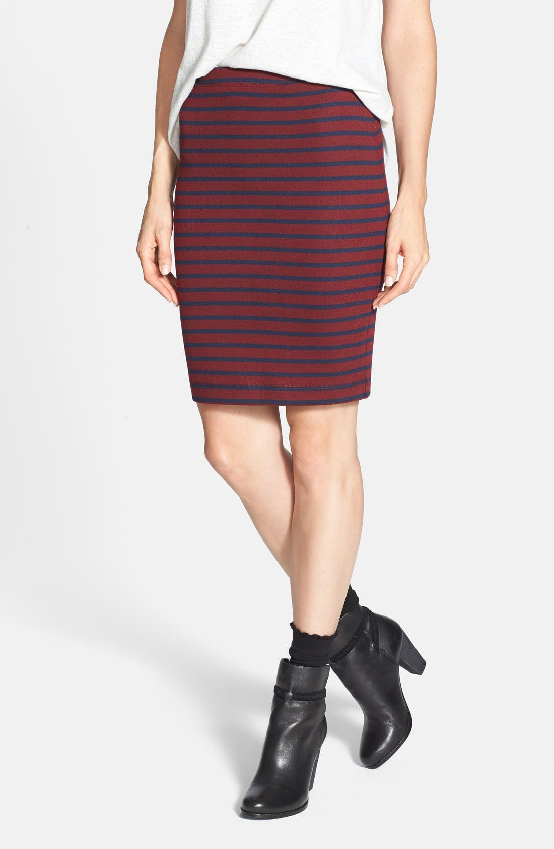 Main Image - Ace Delivery Stripe Tube Skirt