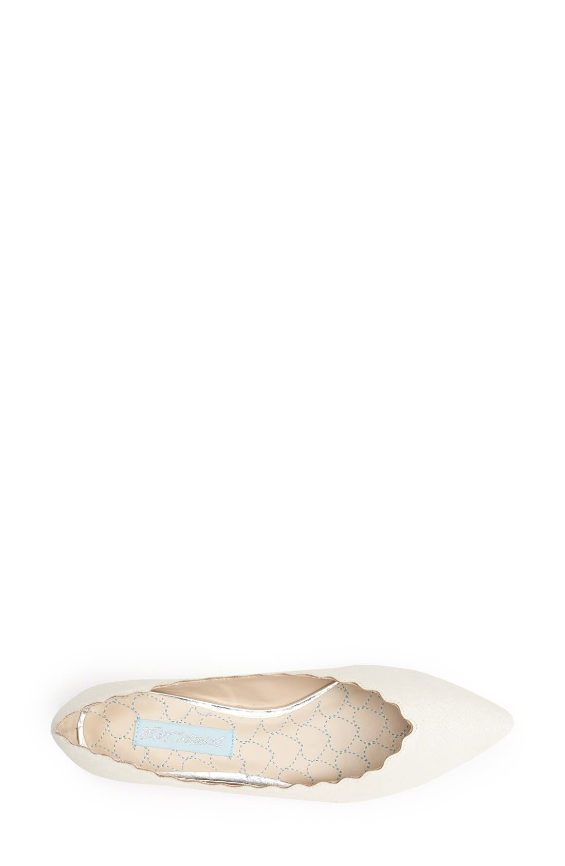 Alternate Image 3  - Blue by Betsey Johnson 'Cake' Flat (Women)