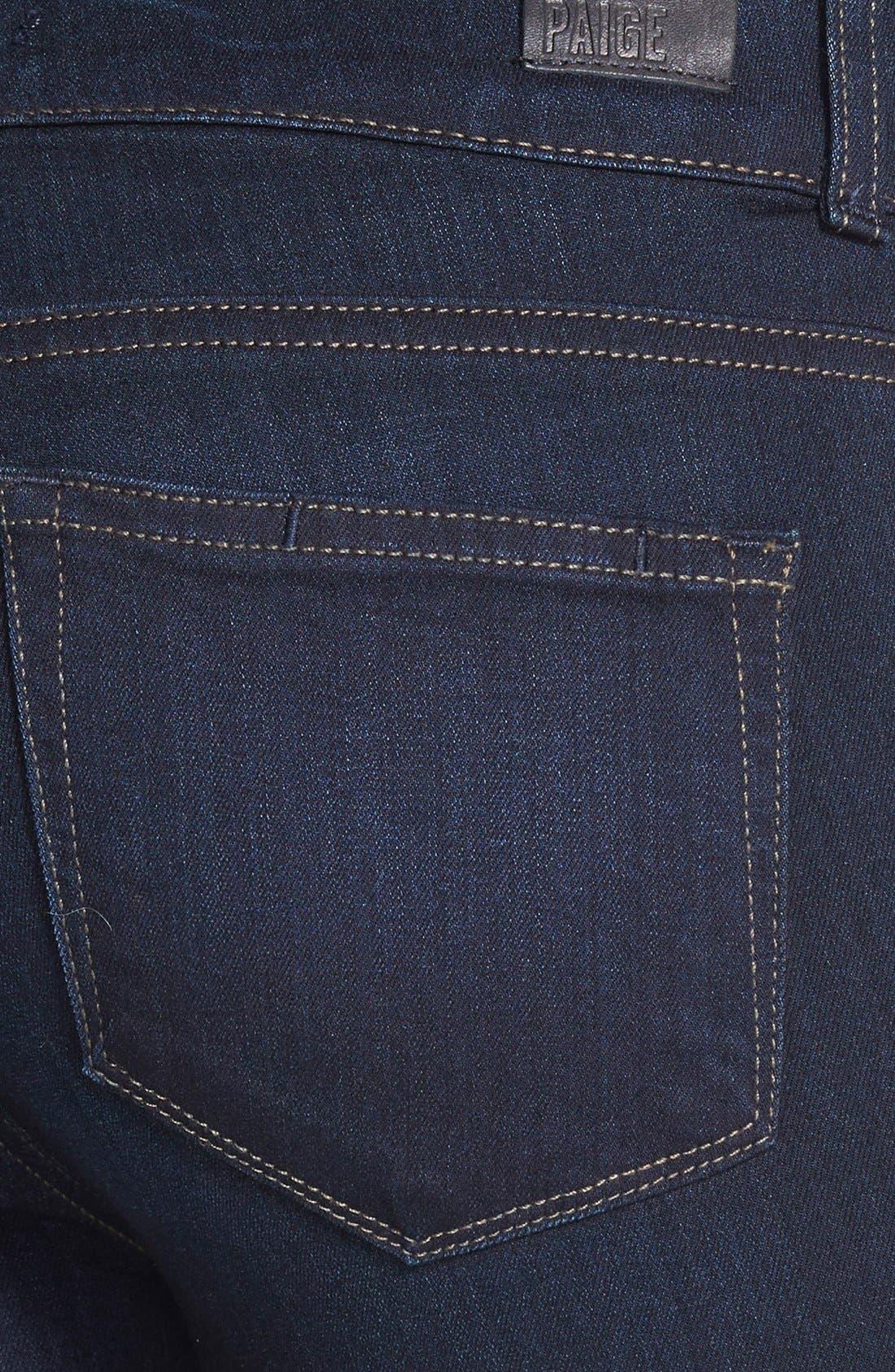 Alternate Image 3  - PAIGE 'Transcend - Hidden Hills' Bootcut Stretch Jeans (Mona) (Petite)