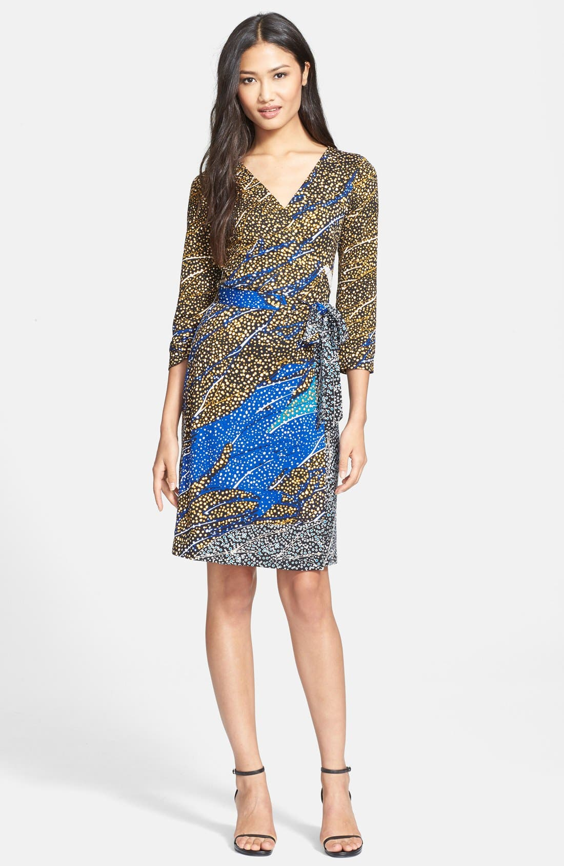 Alternate Image 1 Selected - Diane von Furstenberg 'New Julian Two' Silk Jersey Wrap Dress