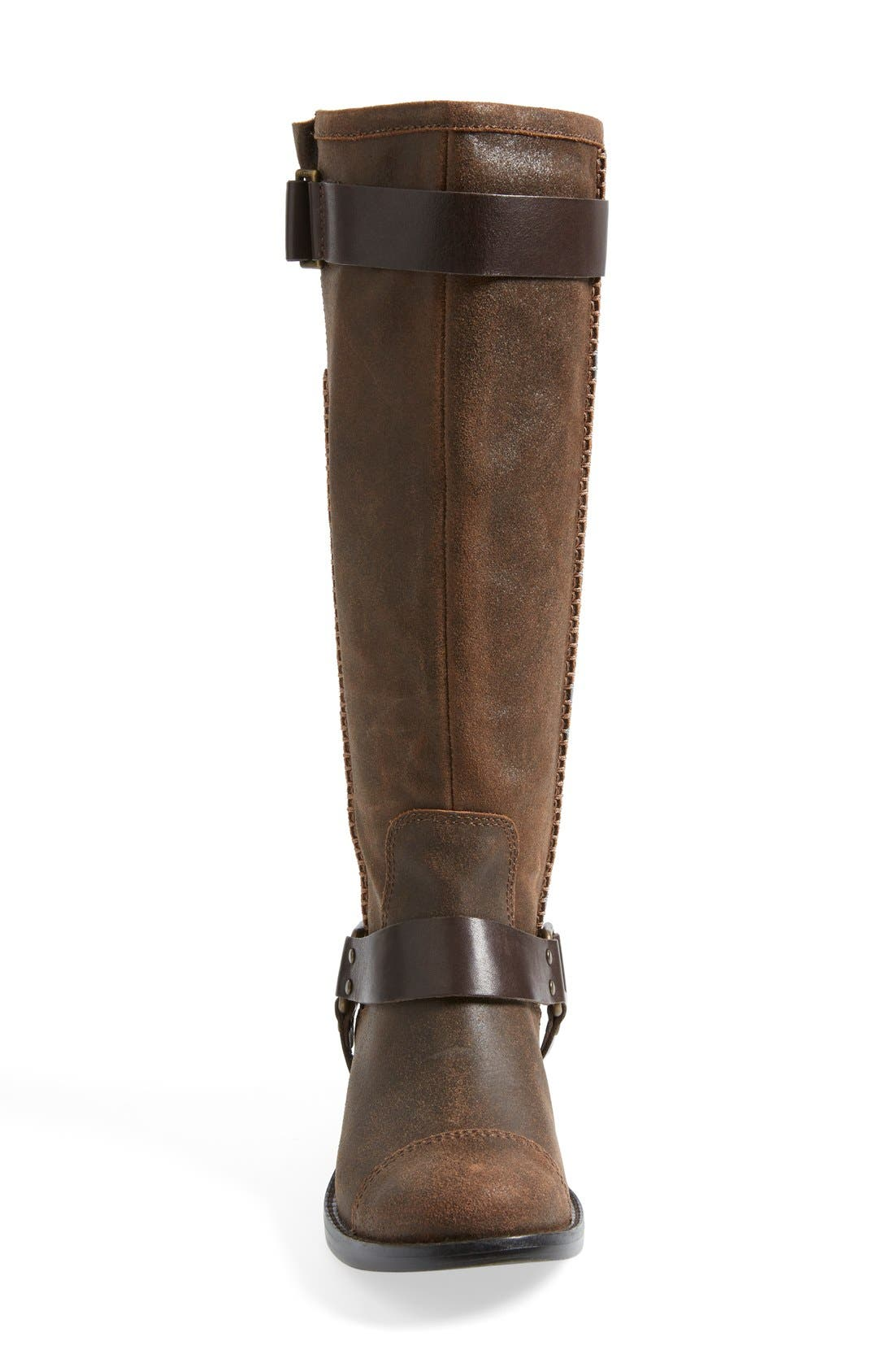 Alternate Image 3  - UGG® Australia 'Dree' Suede Harness Boot (Women)