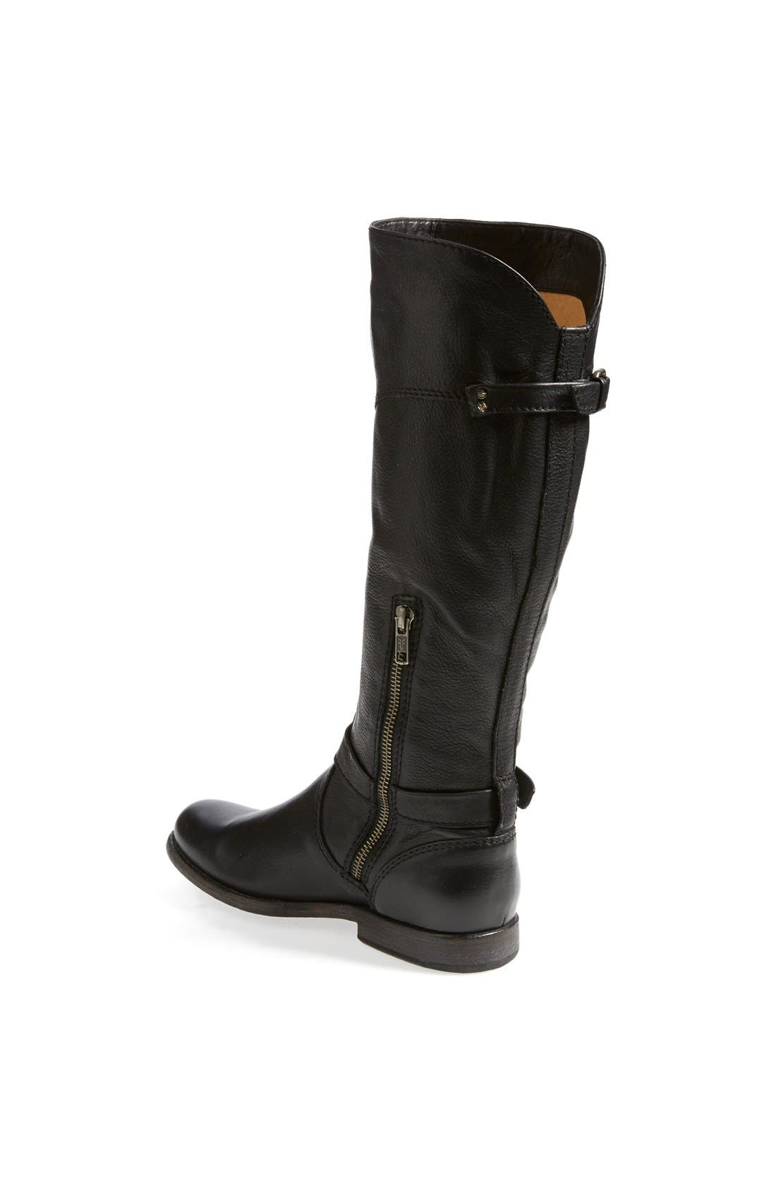 Alternate Image 2  - Frye 'Phillip' Riding Boot (Extended Calf) (Women)