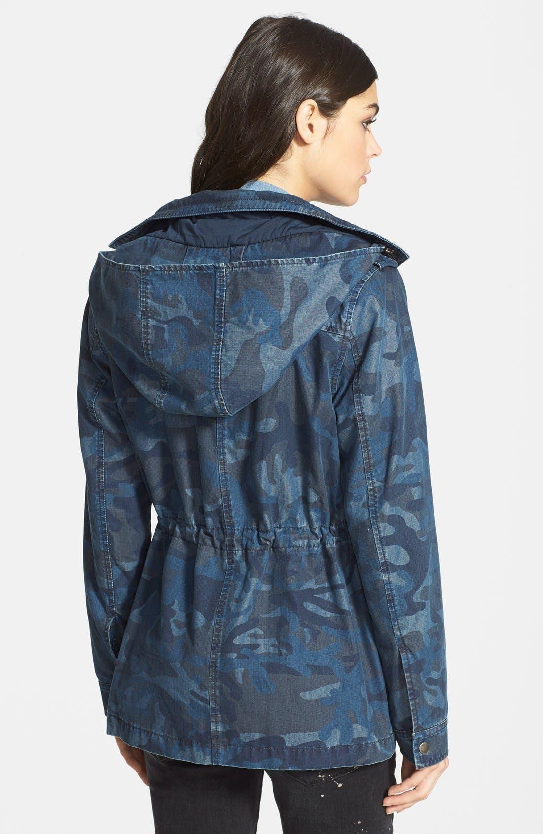 Alternate Image 2  - Treasure&Bond Hooded Surplus Jacket