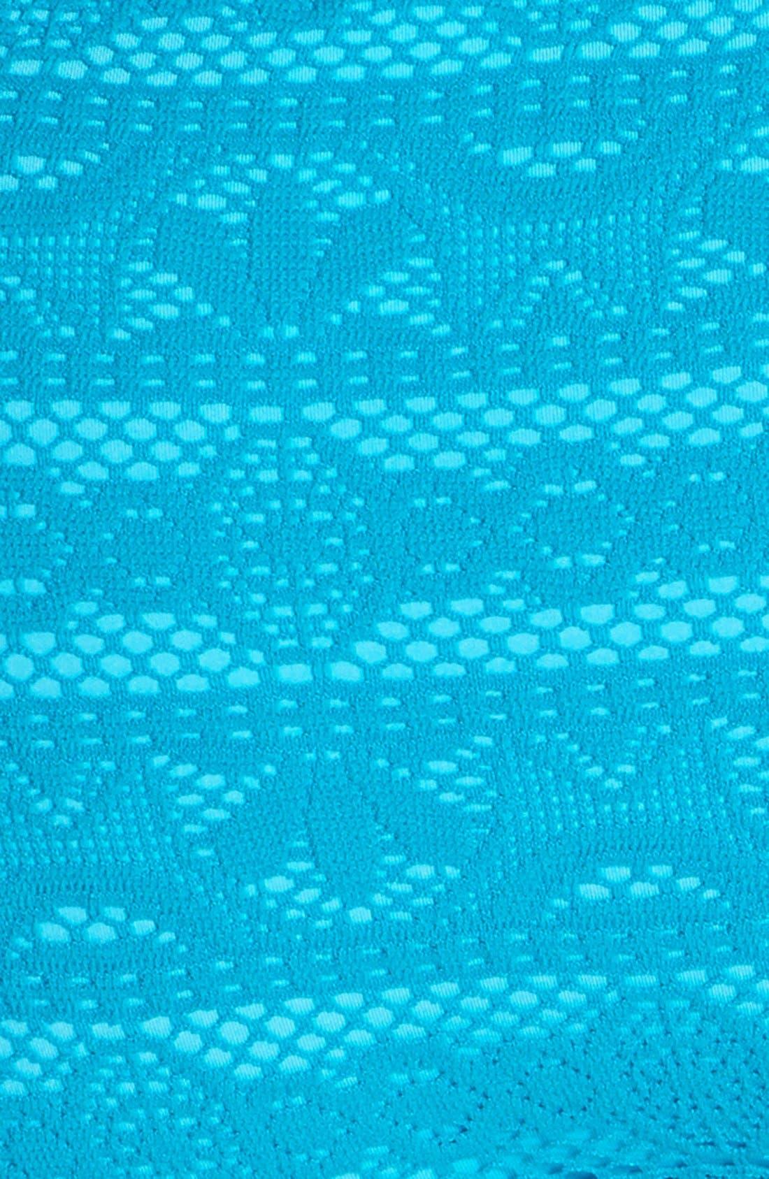 Alternate Image 5  - Becca 'Show & Tell' Crochet Bikini Bottoms