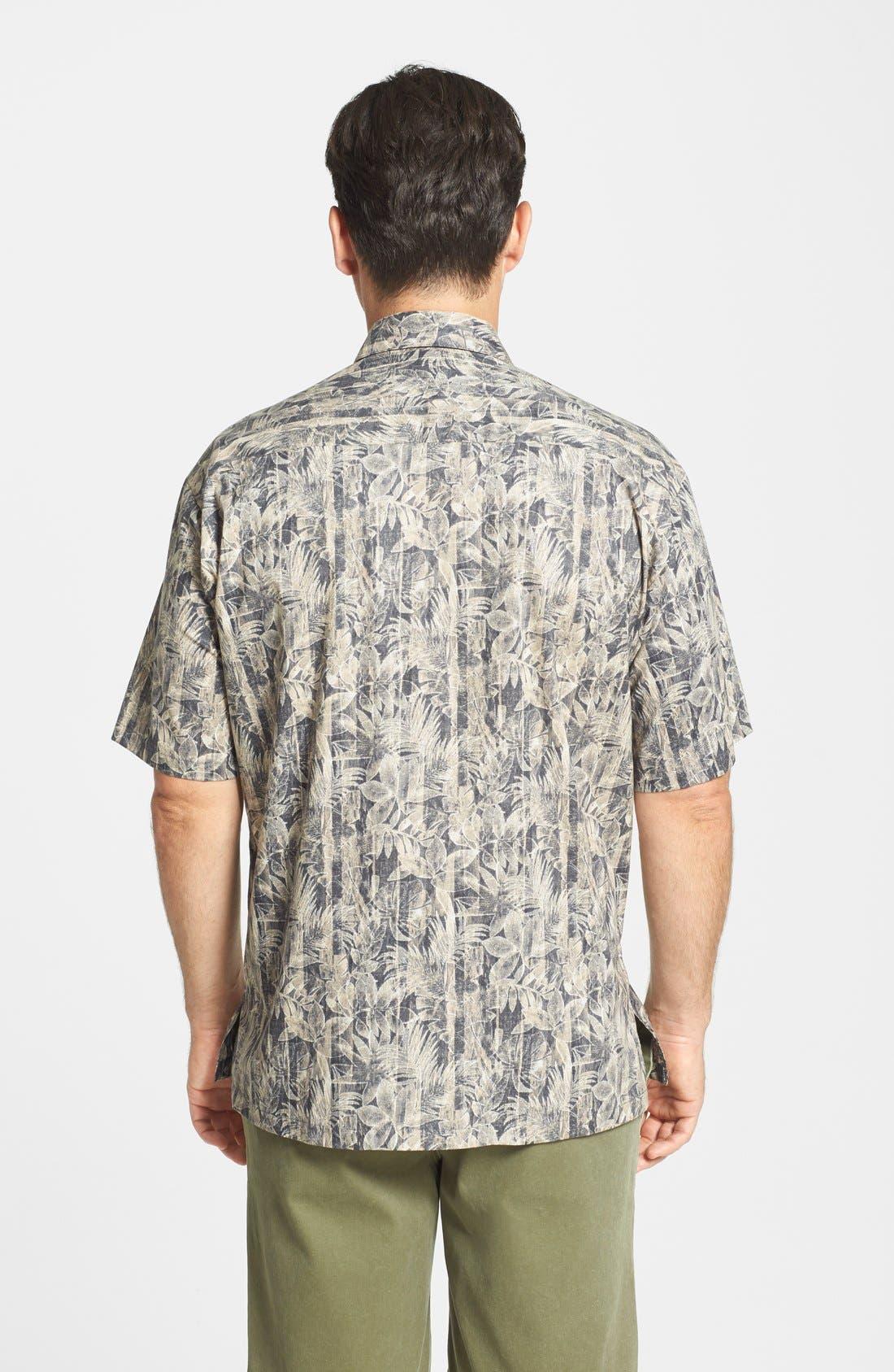 Alternate Image 2  - Tori Richard 'Woodwork' Classic Fit Cotton Lawn Campshirt