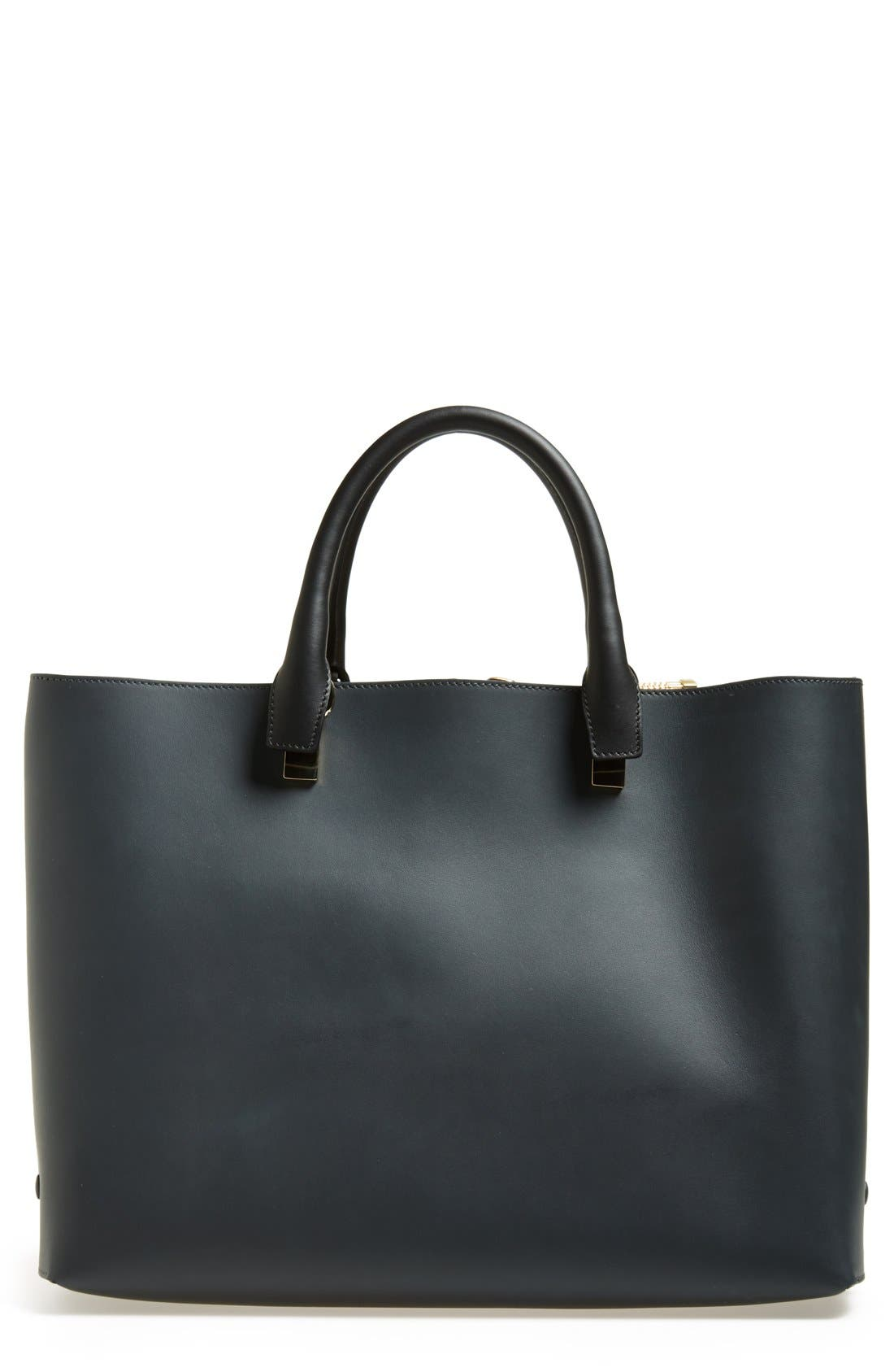 Alternate Image 1 Selected - Chloé 'Baylee - Medium' Leather Tote