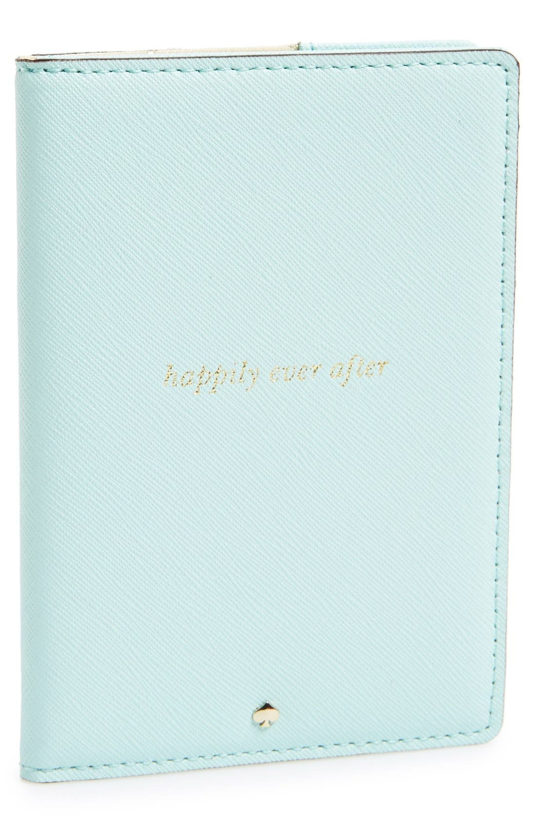 Alternate Image 1 Selected - kate spade new york 'wedding belles - happily ever after' passport holder