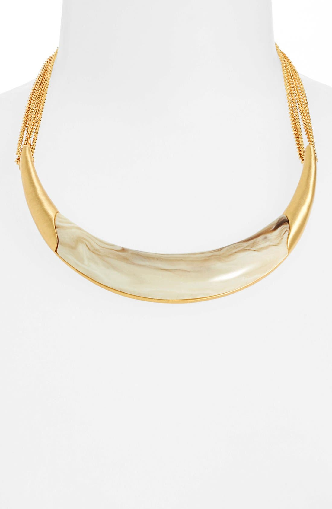 Alternate Image 1 Selected - Vince Camuto 'Thorns & Horns' Bib Necklace