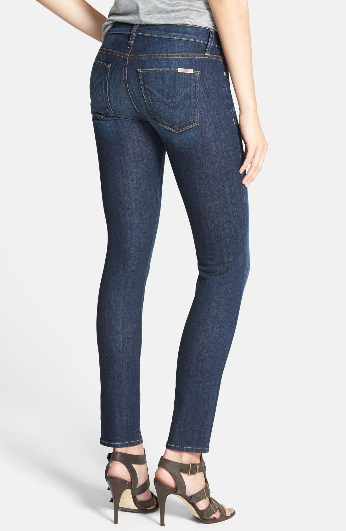 Alternate Image 2  - Hudson Jeans 'Collette' Skinny Jeans (Stella)