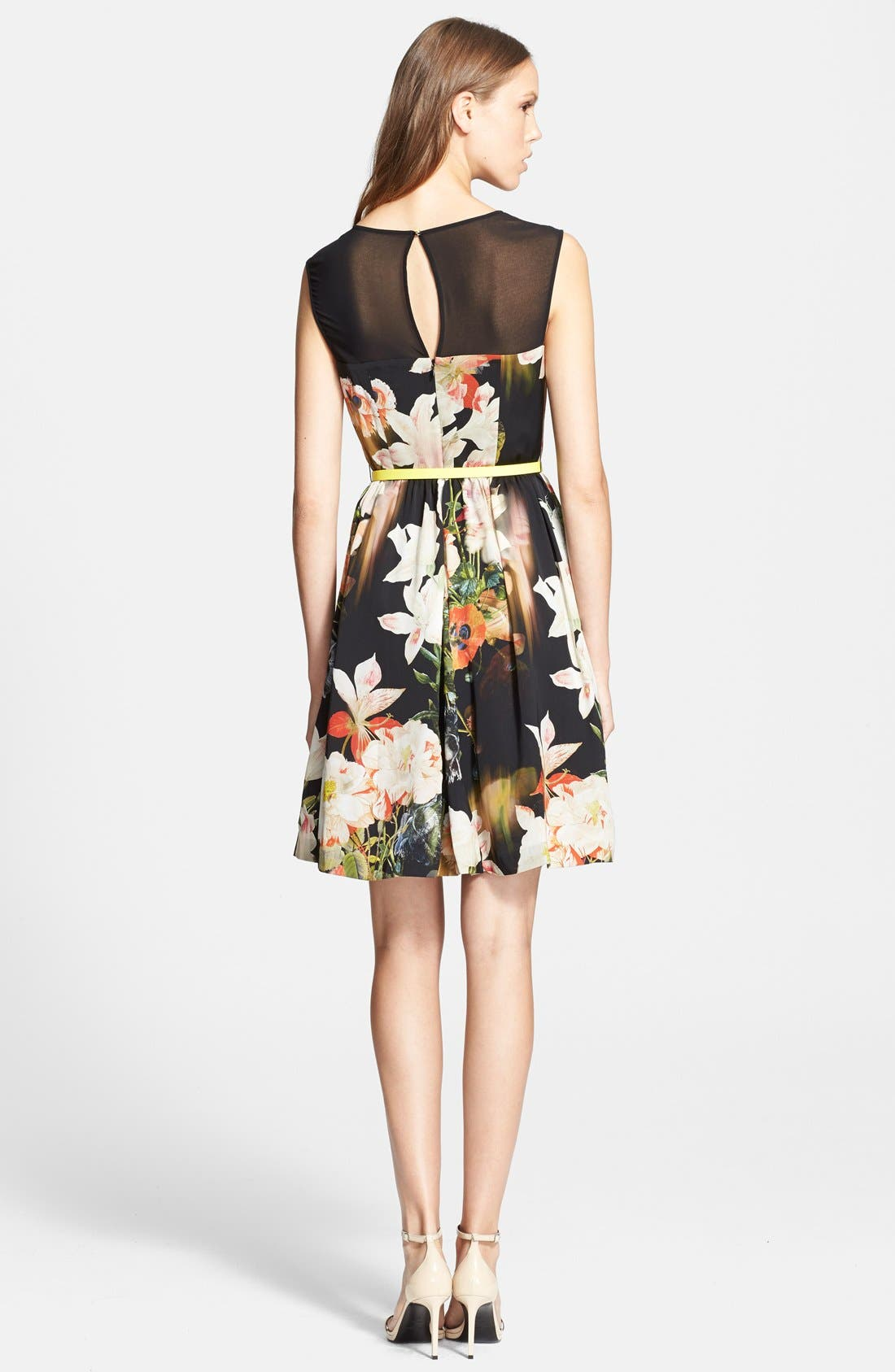 Alternate Image 2  - Ted Baker London 'Opulent Bloom' Fit & Flare Dress