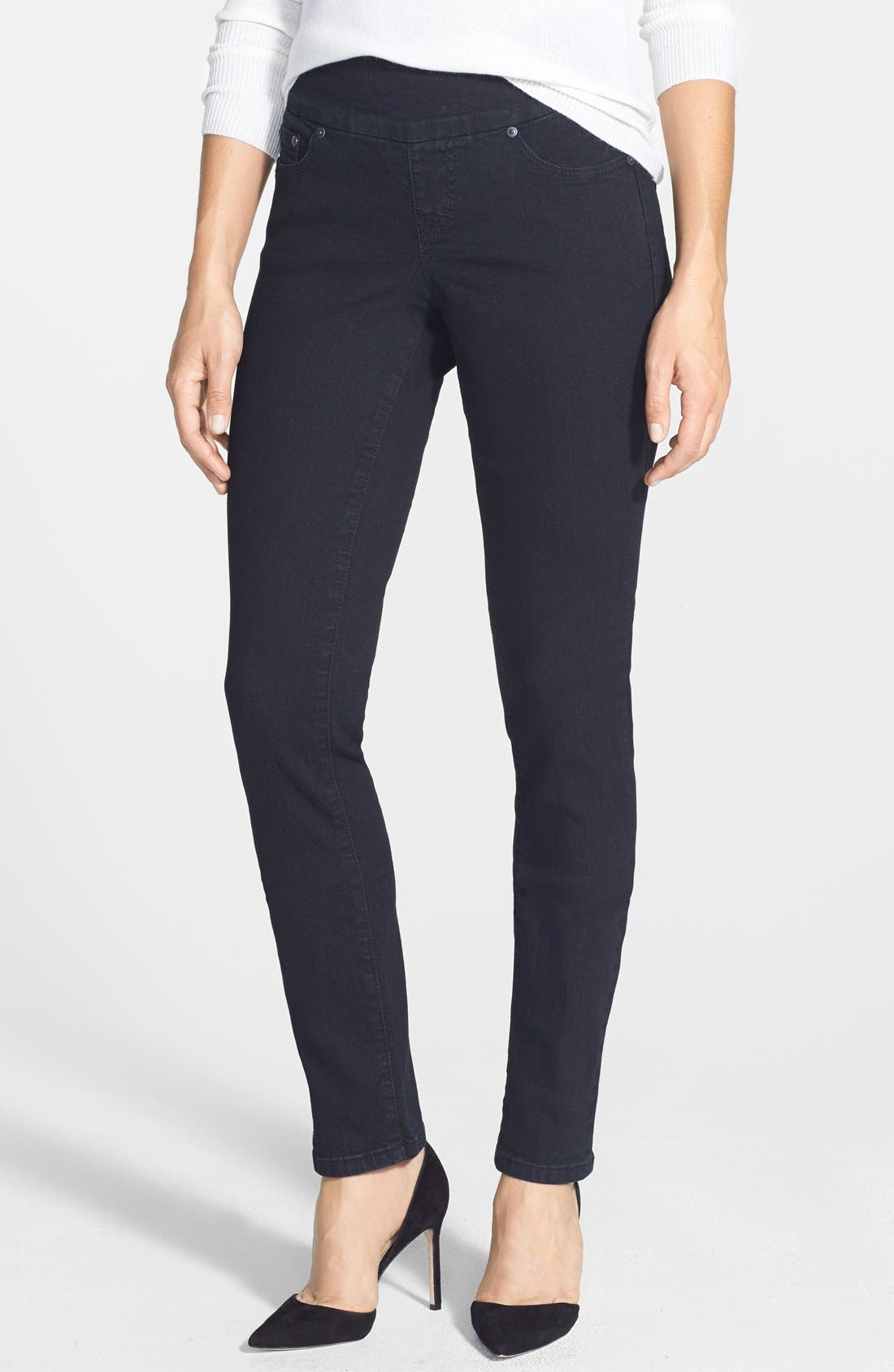 JAG JEANS 'Malia' Pull-On Stretch Slim Jeans