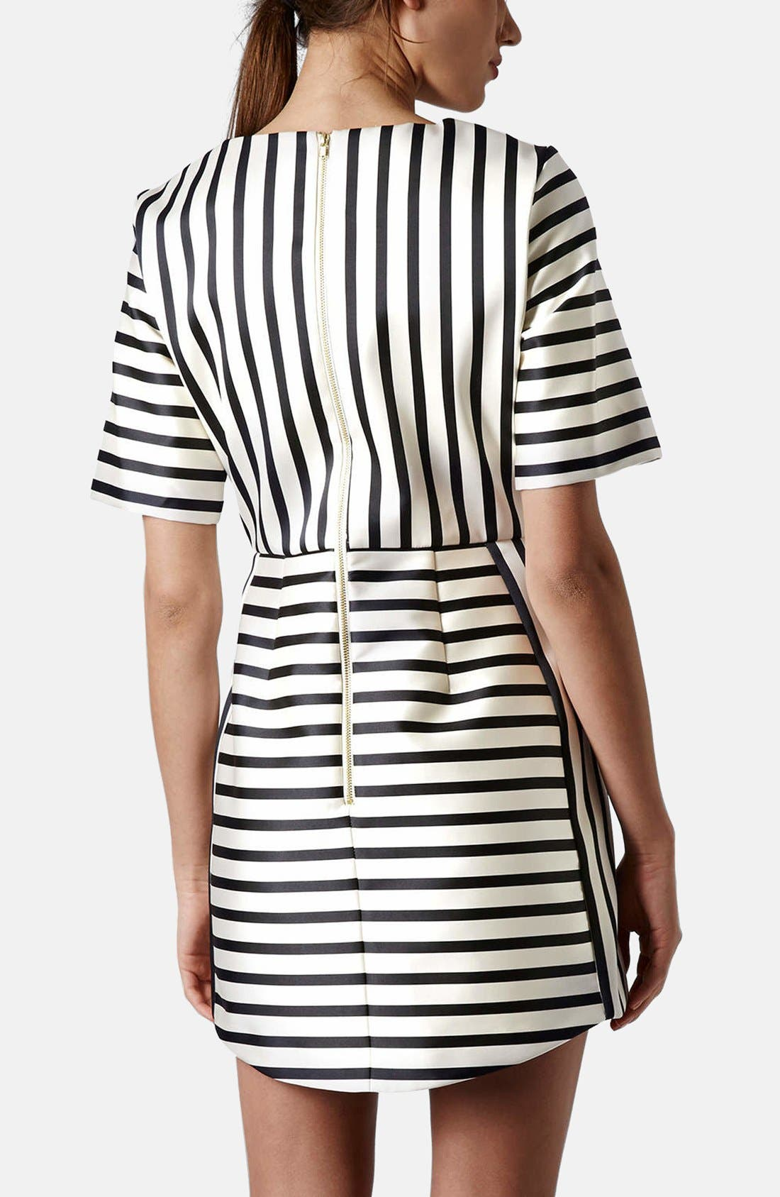 Alternate Image 2  - Topshop Stripe A-Line Dress