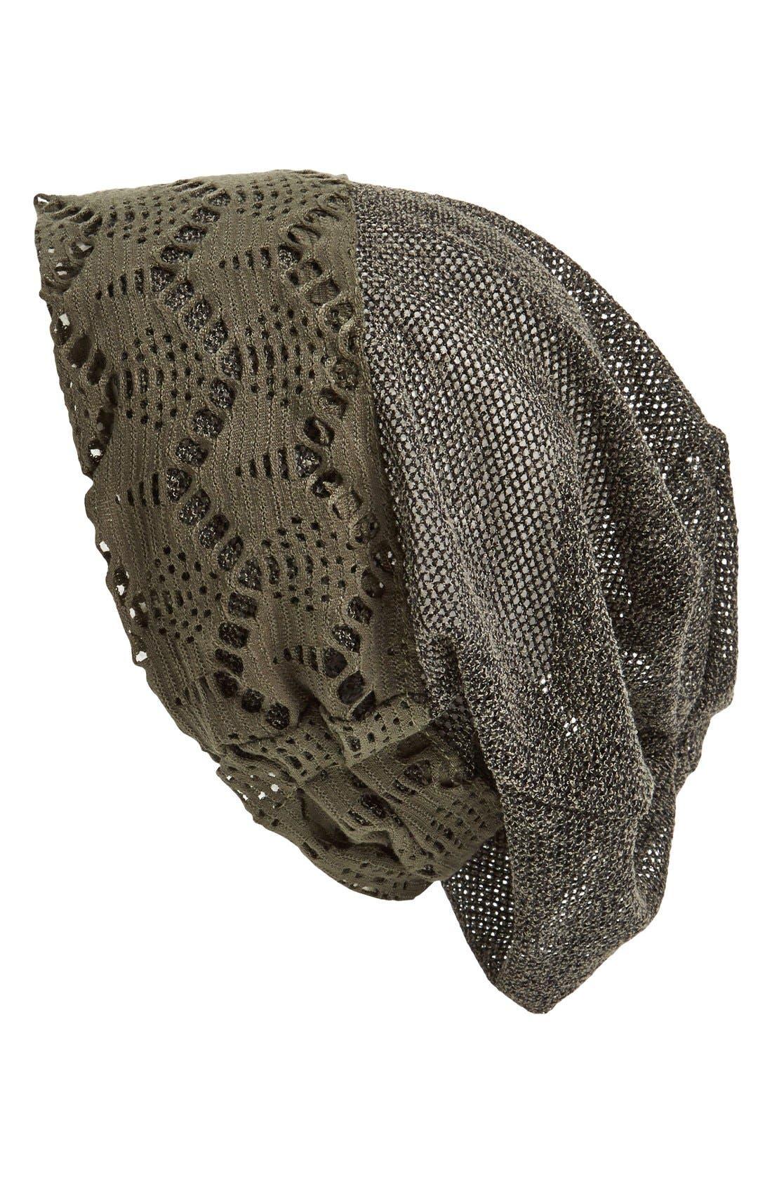 Alternate Image 1 Selected - Tasha Slouchy Knit Beanie