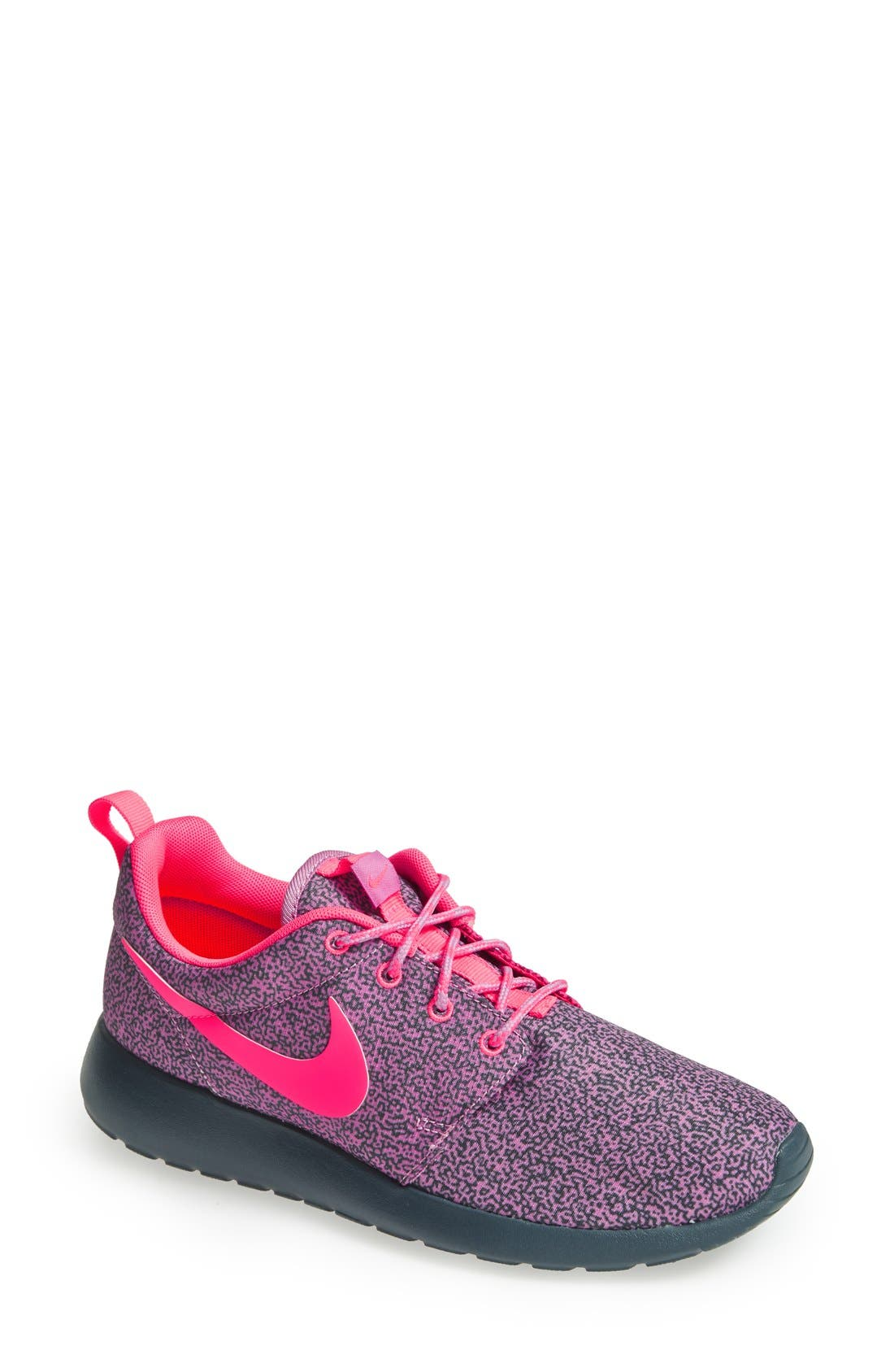 Alternate Image 1 Selected - Nike 'Roshe Run' Print Sneaker (Women)