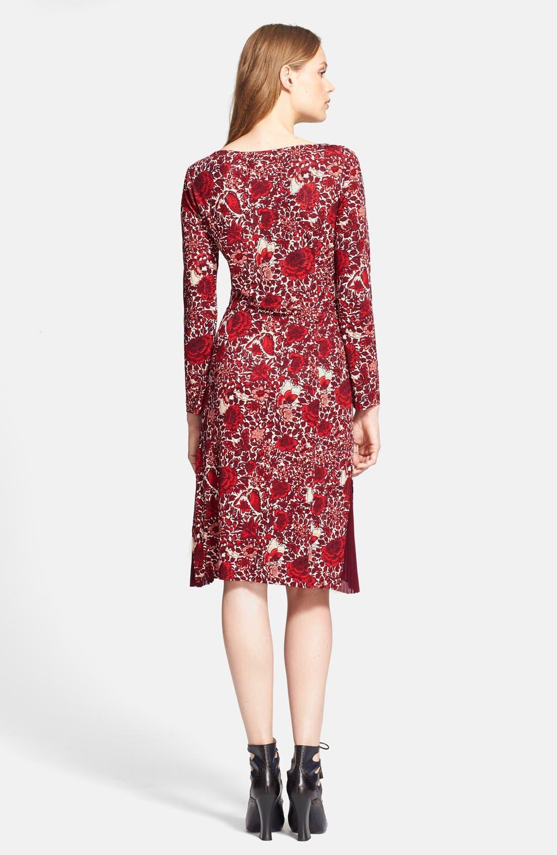 Alternate Image 2  - Tory Burch 'Ria' Floral Print Shift Dress