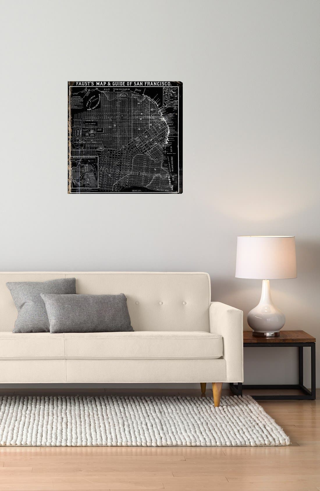 Alternate Image 2  - Oliver Gal 'Faust's Map of San Francisco - 1882' Wall Art