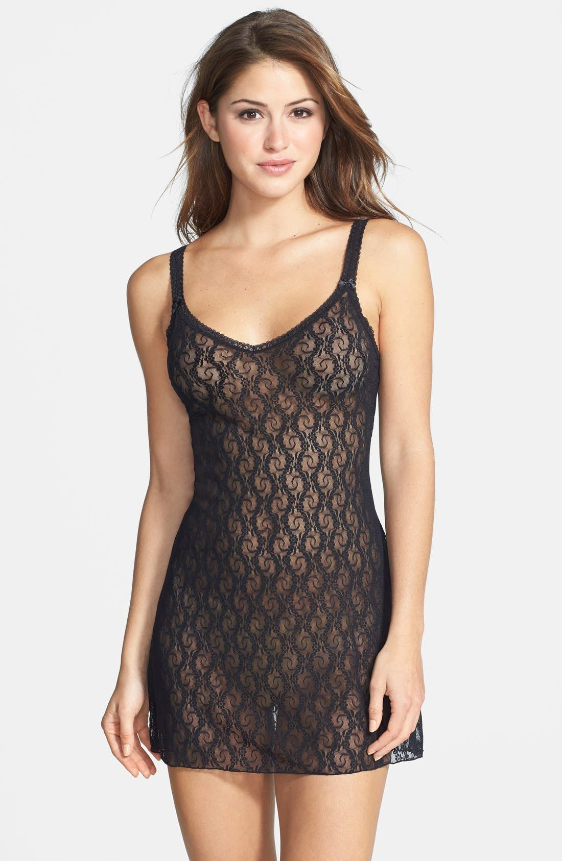 b.tempt'd by Wacoal 'Lace Kiss' Chemise