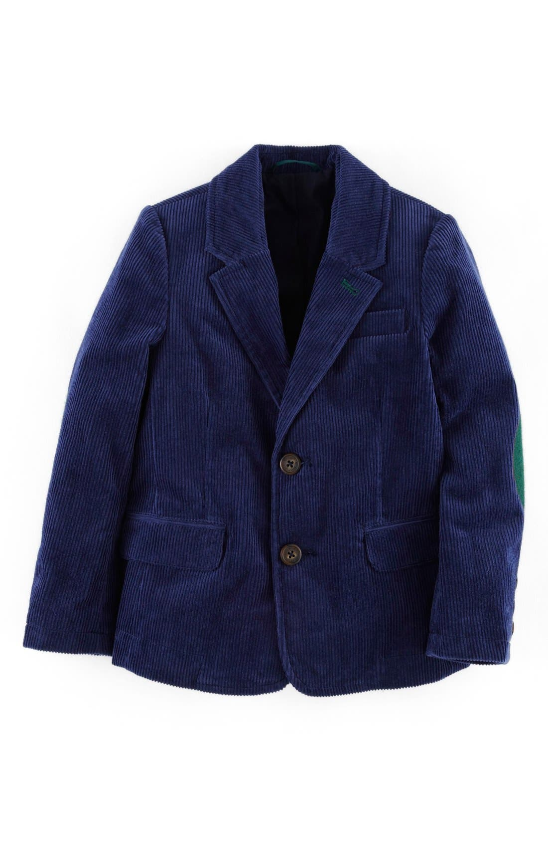 Alternate Image 1 Selected - Mini Boden Corduroy Blazer (Little Boys & Big Boys)